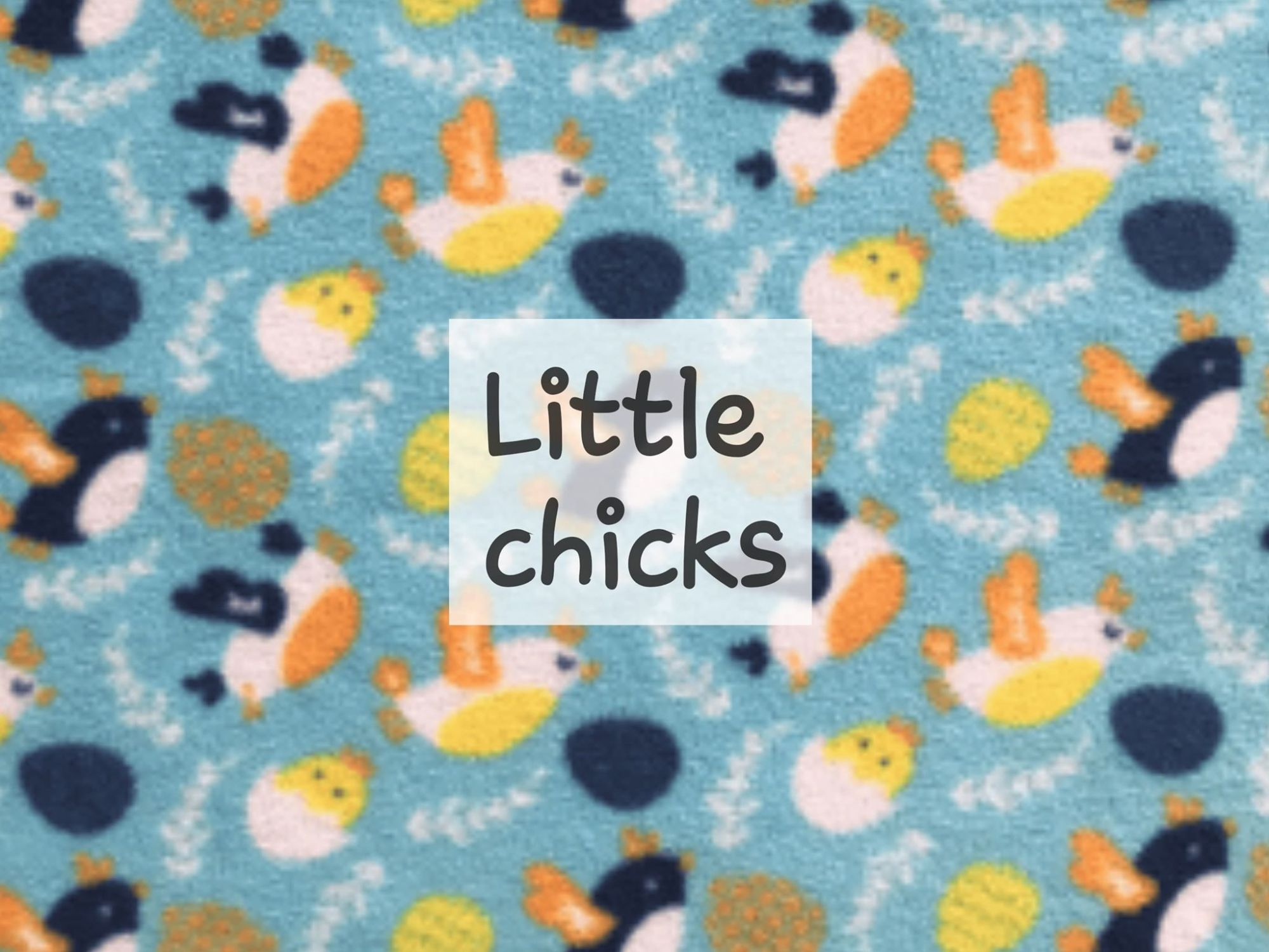 little chicks fleece