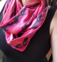 Running Hounds Infinity Scarf