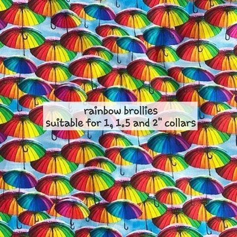 Rainbow Brollies