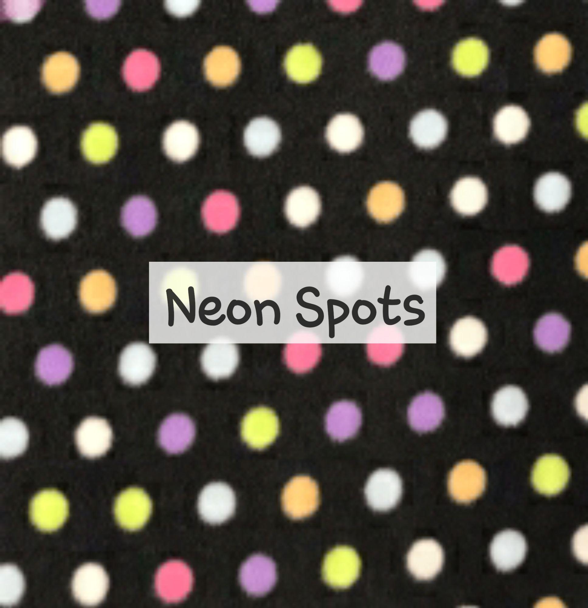 Neon Spots Fleece