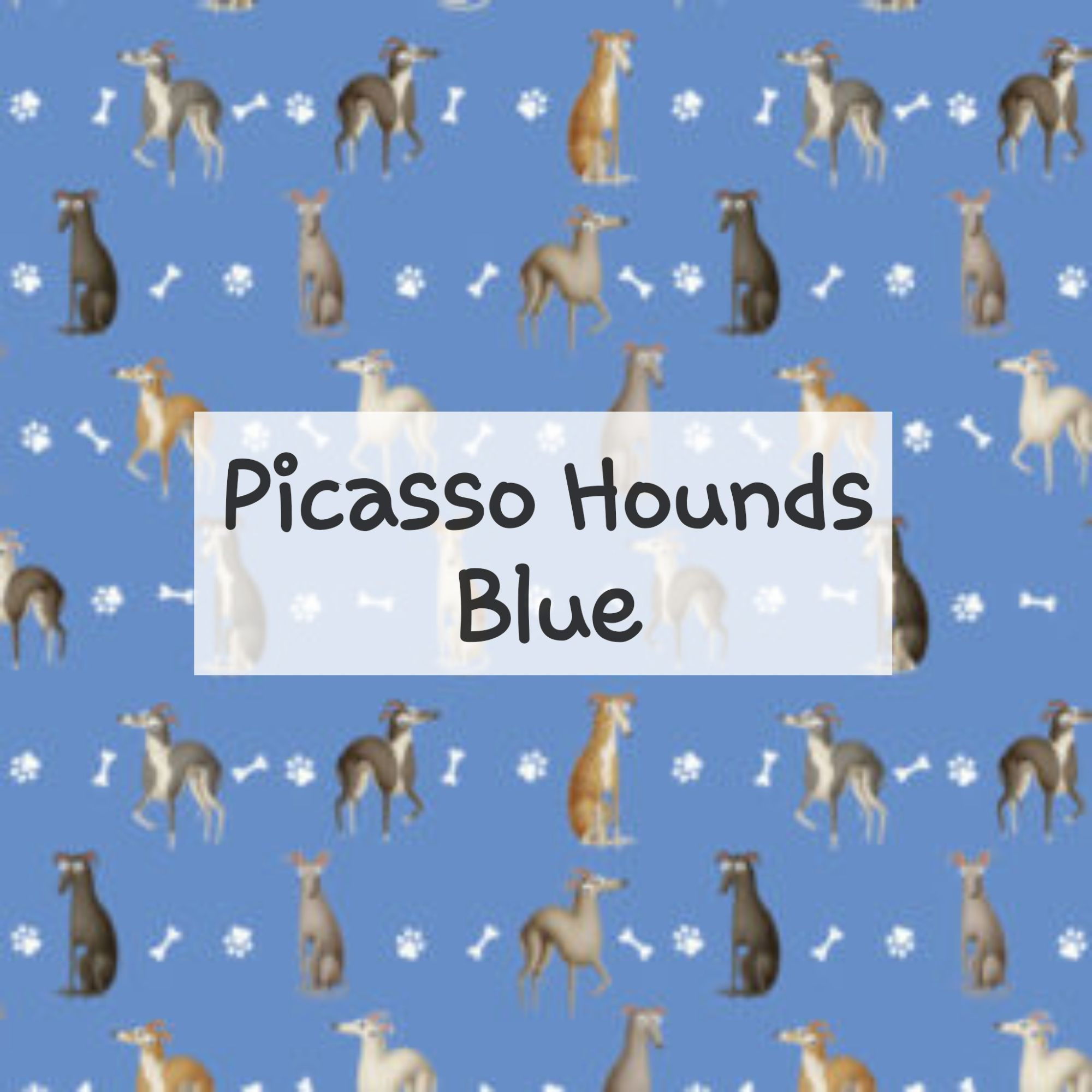 Picasso Hounds Blue