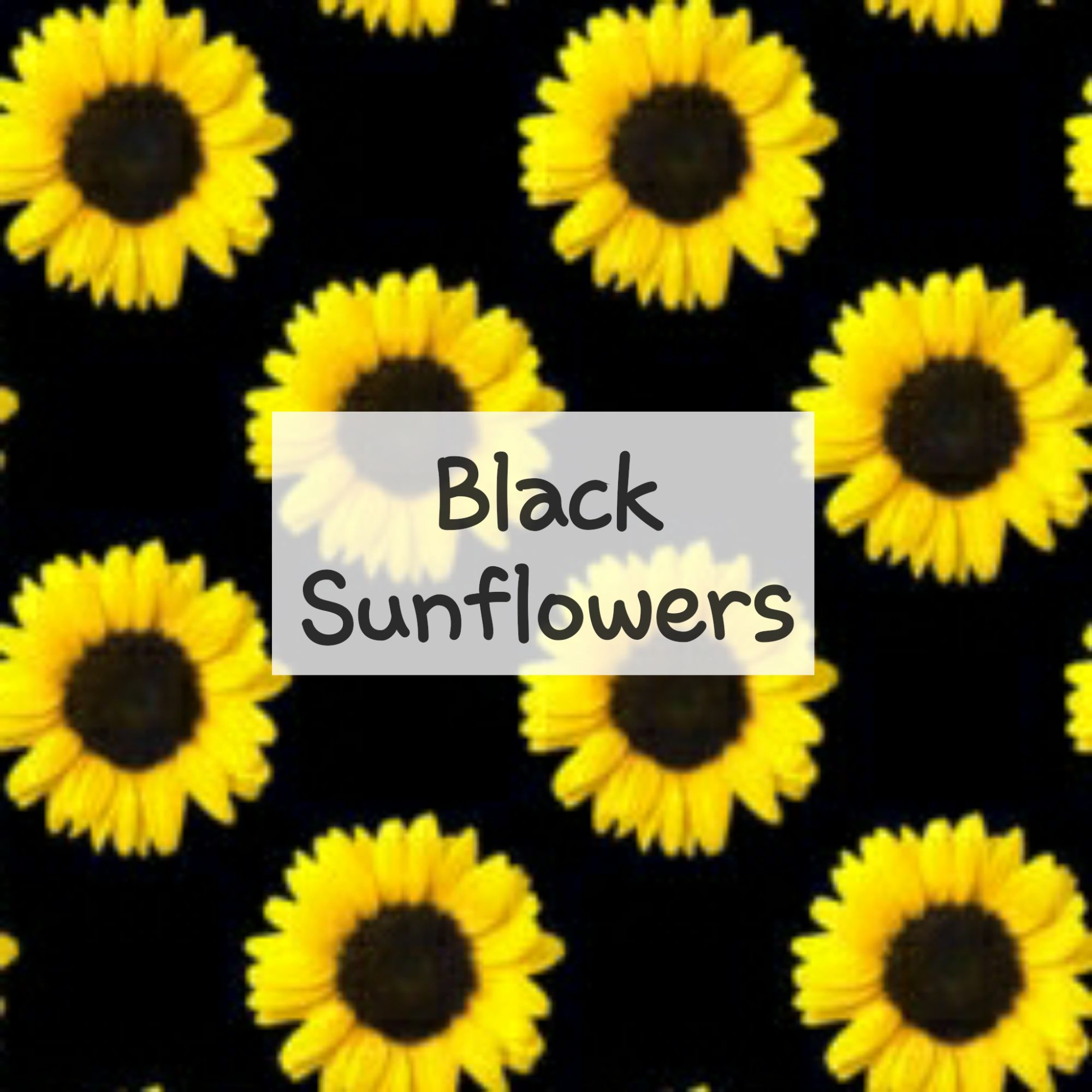 Black Sunflowers