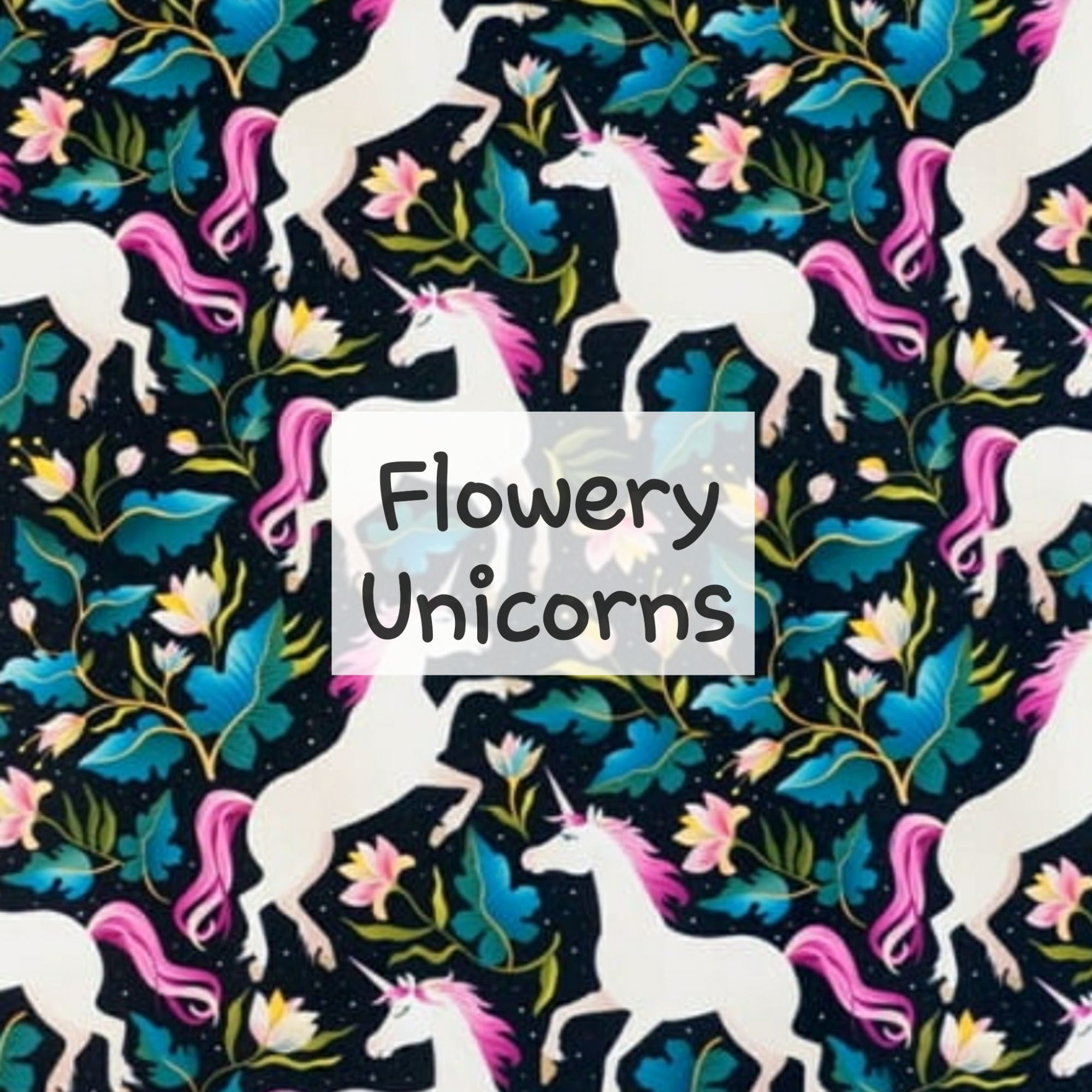 Flowery Unicorns