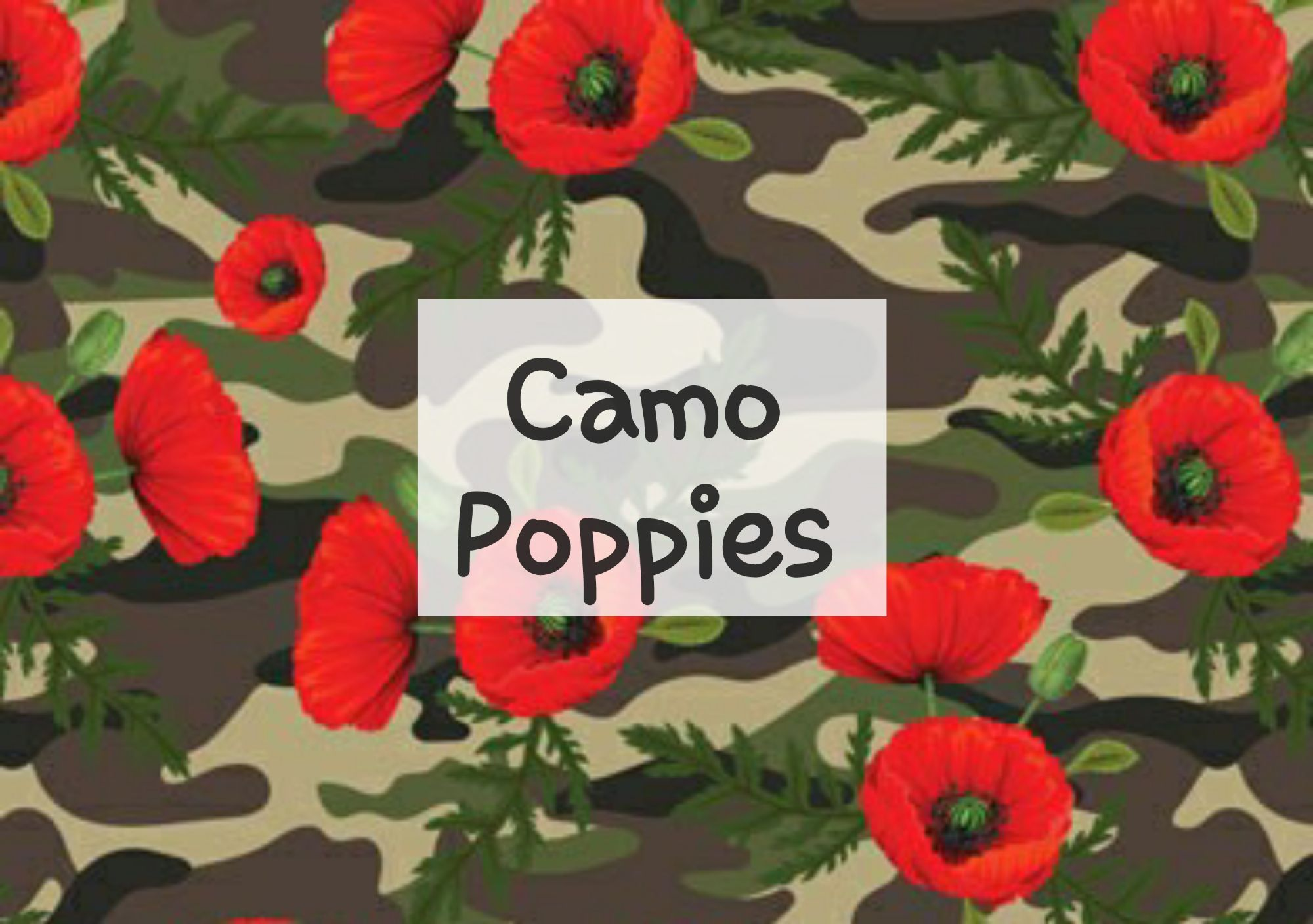 Camo Poppies