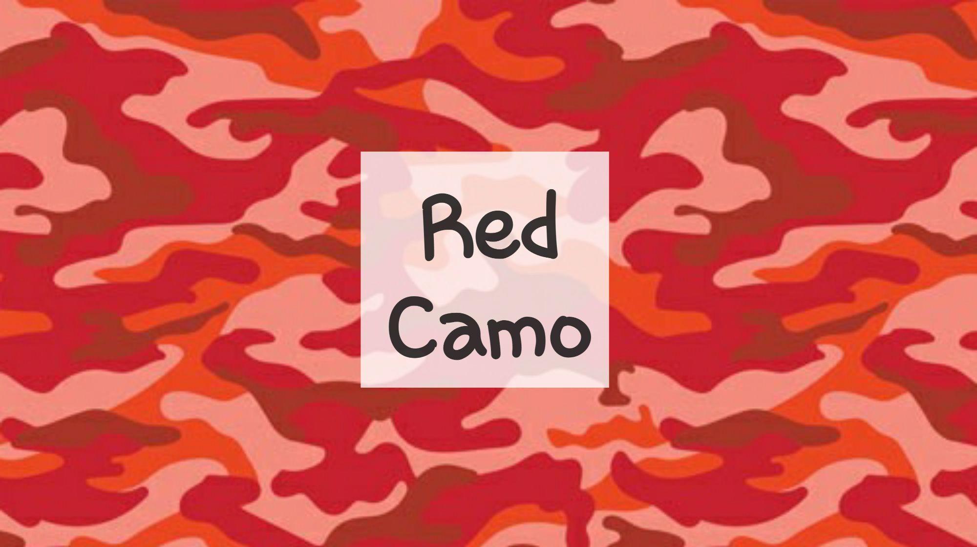 Red Camo