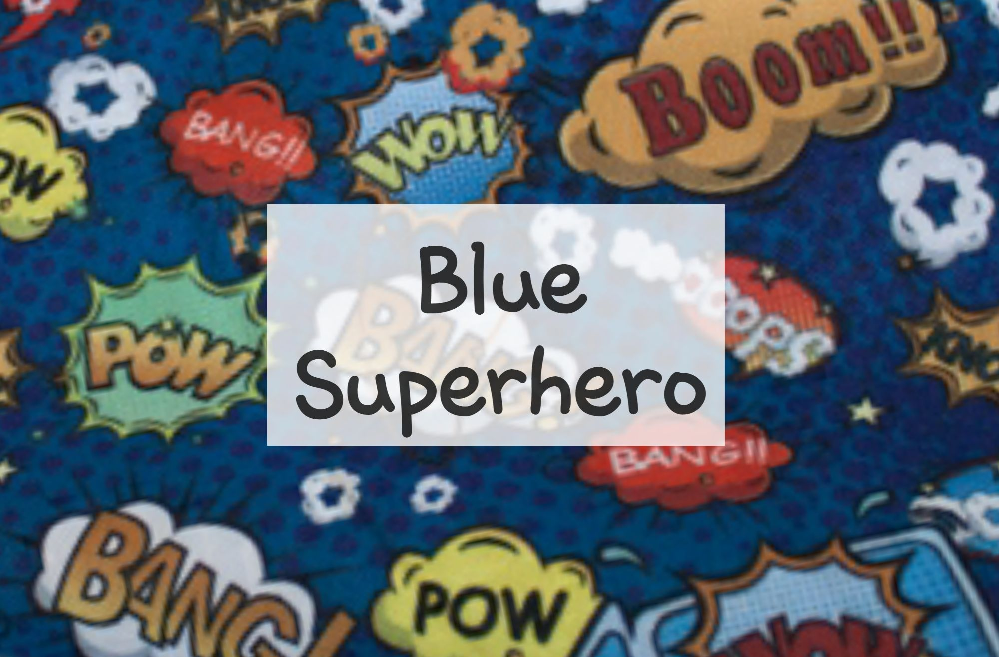 Blue Superhero
