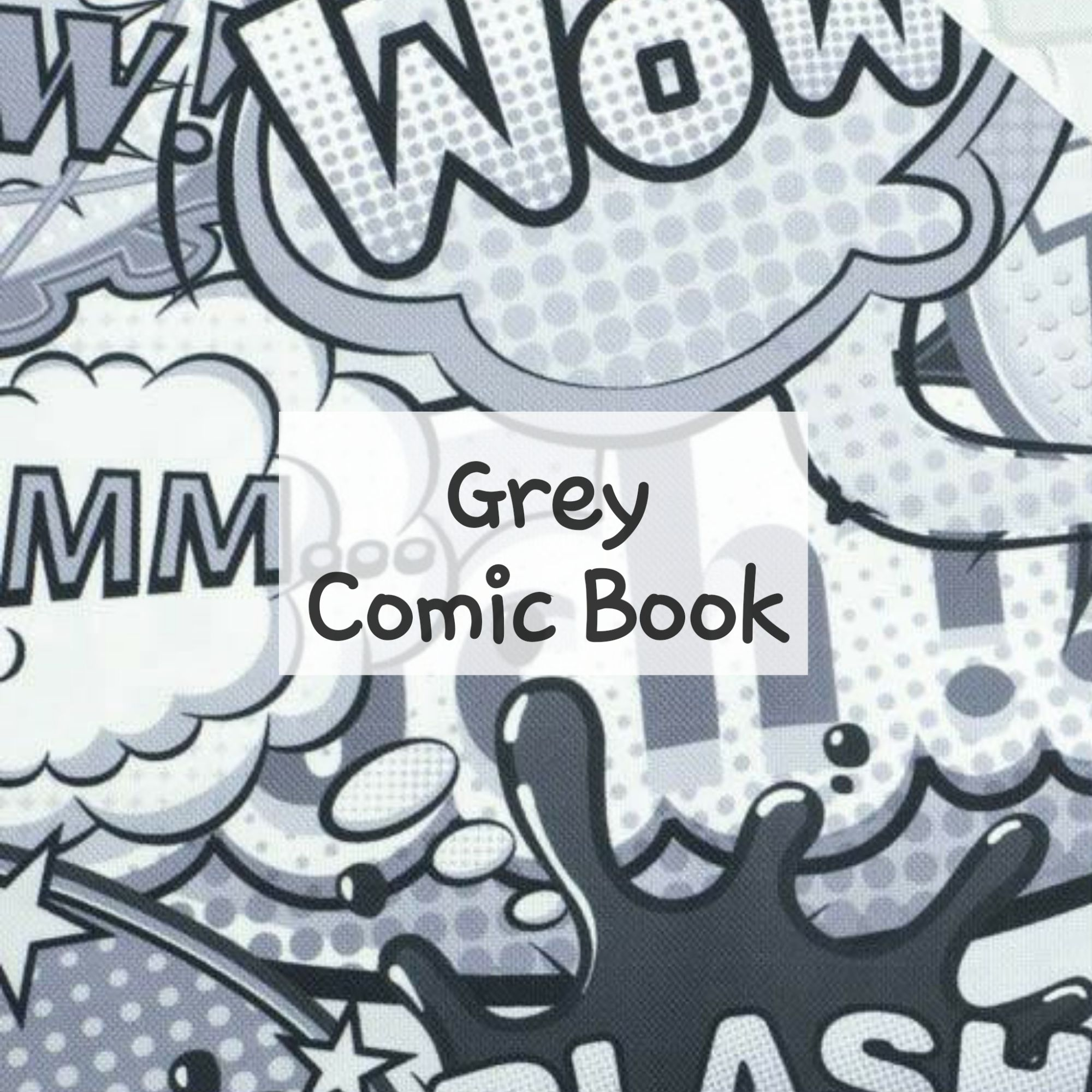 Grey Comic Book