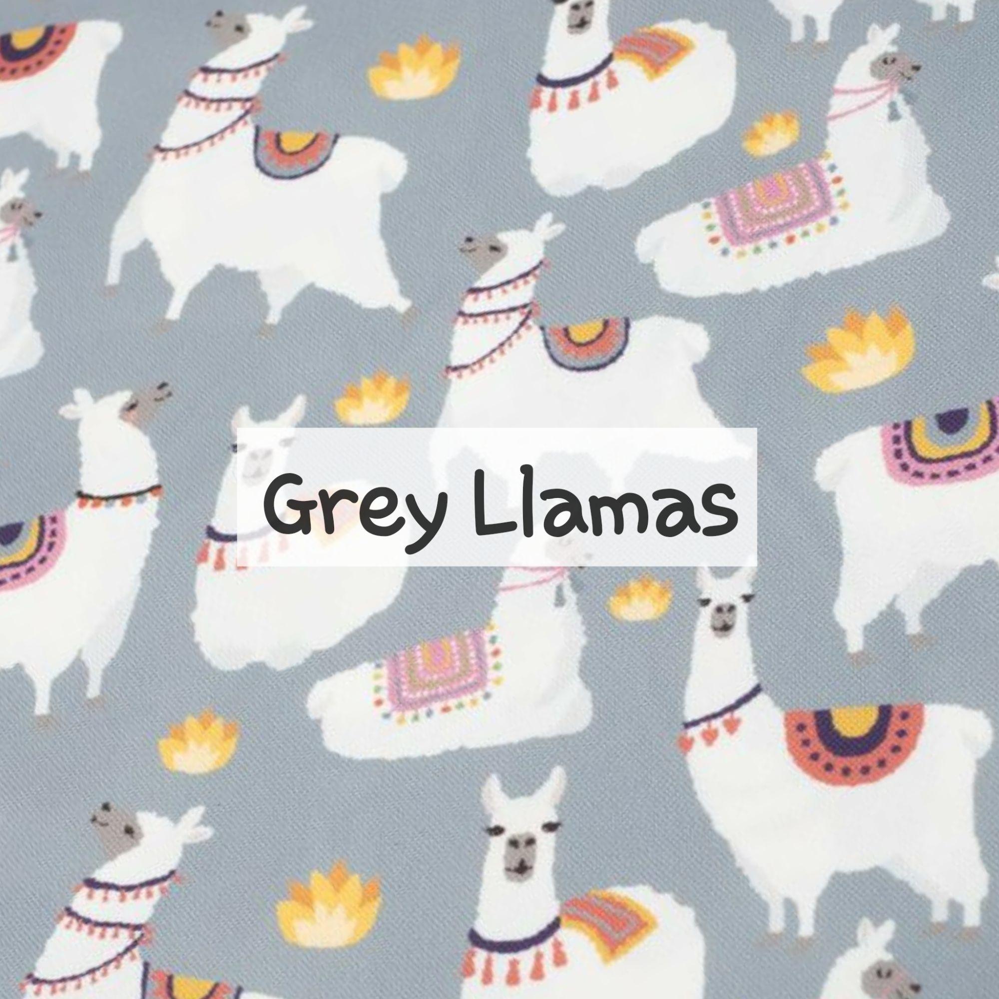 Grey Llamas