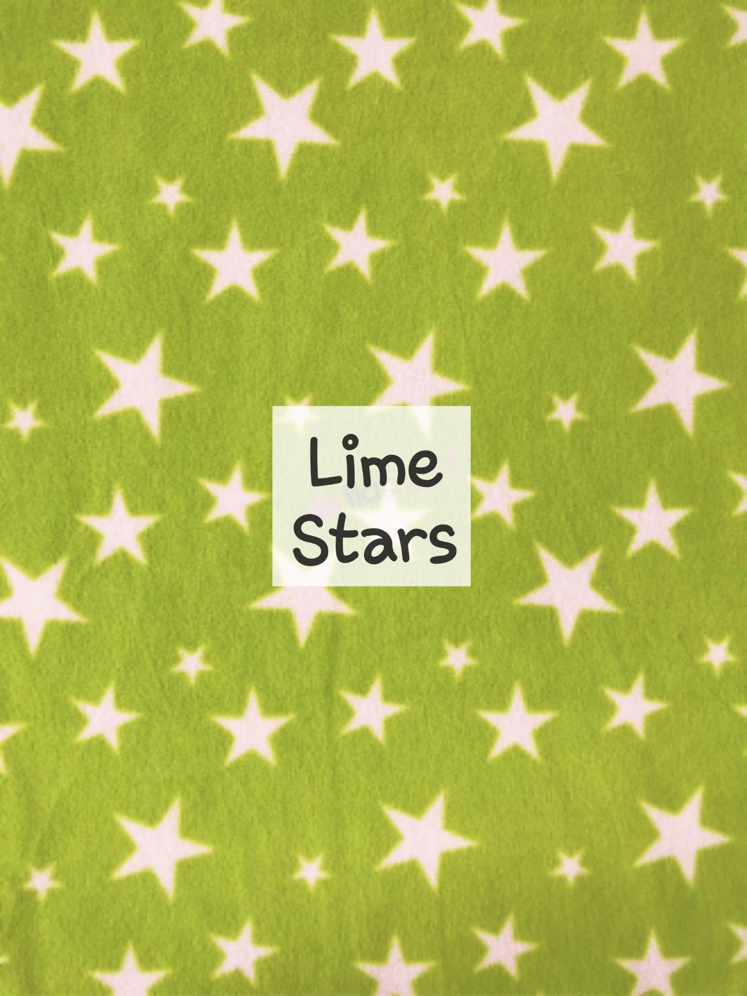 Lime Stars fleecd