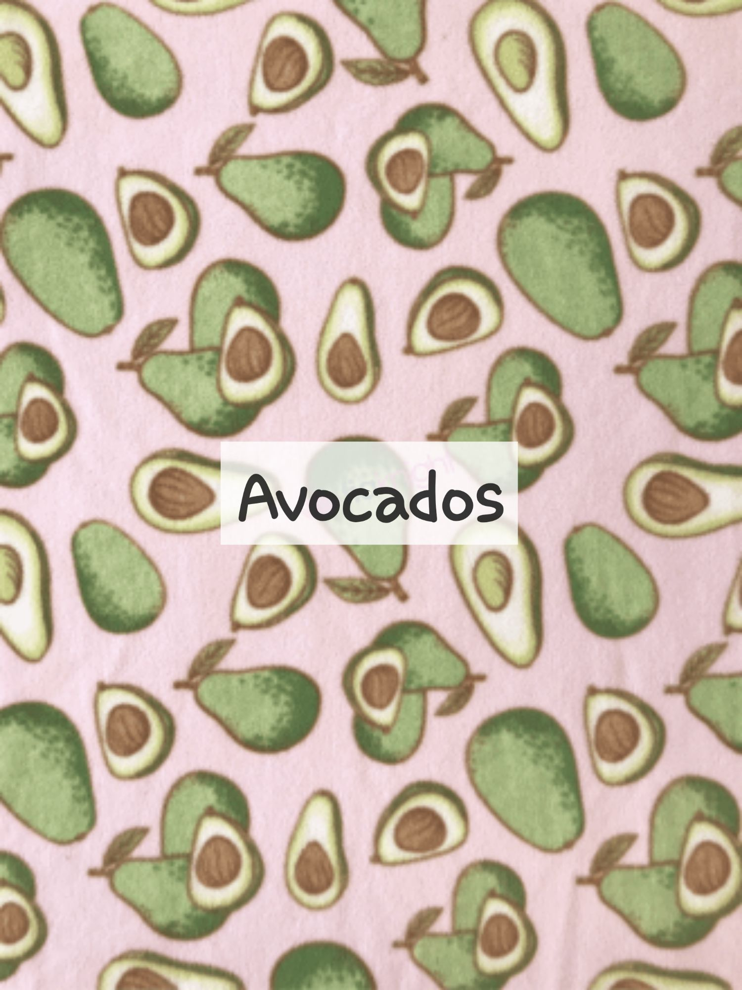 Avocados fleece