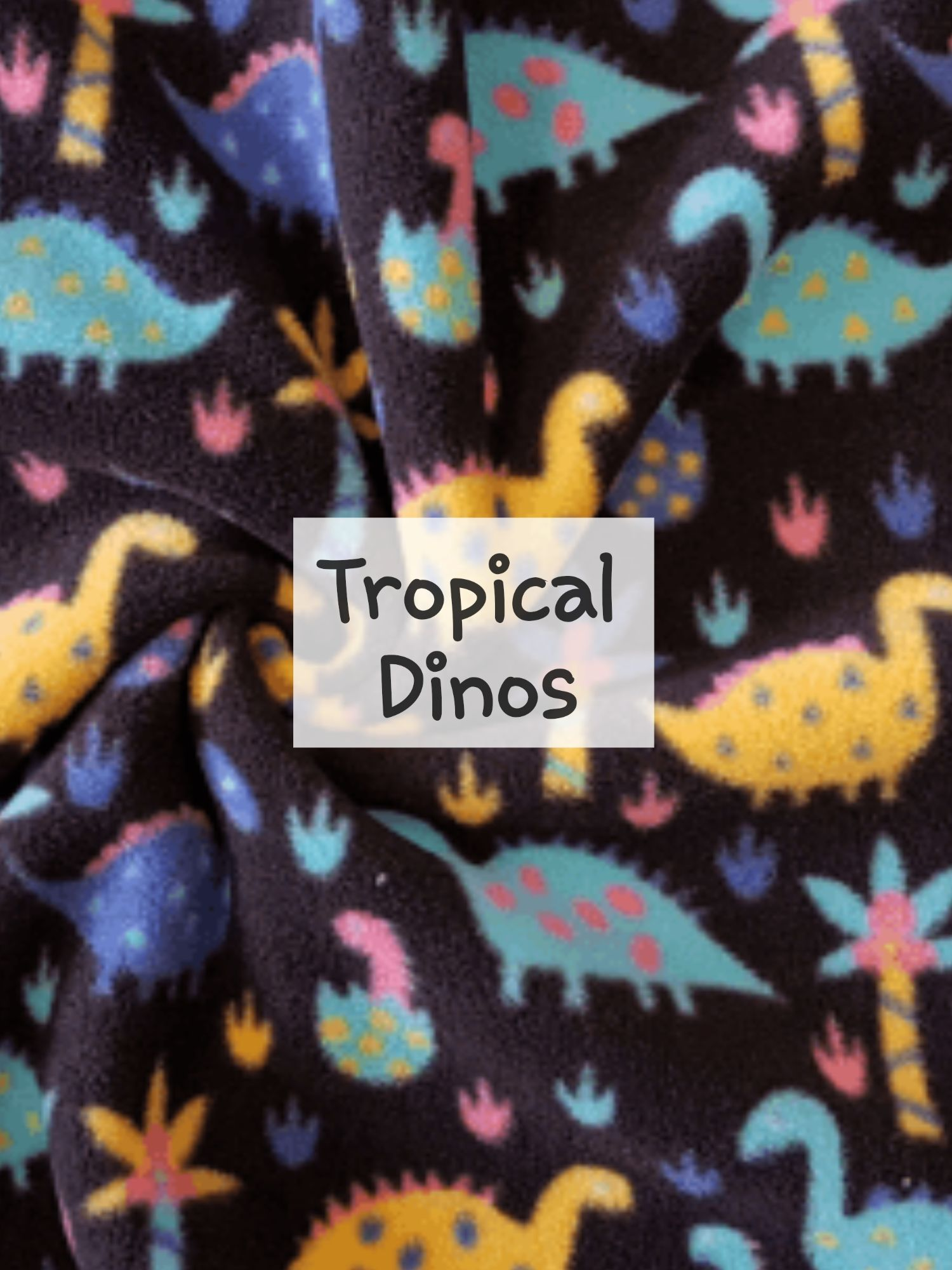 Tropical Dinos Fleece