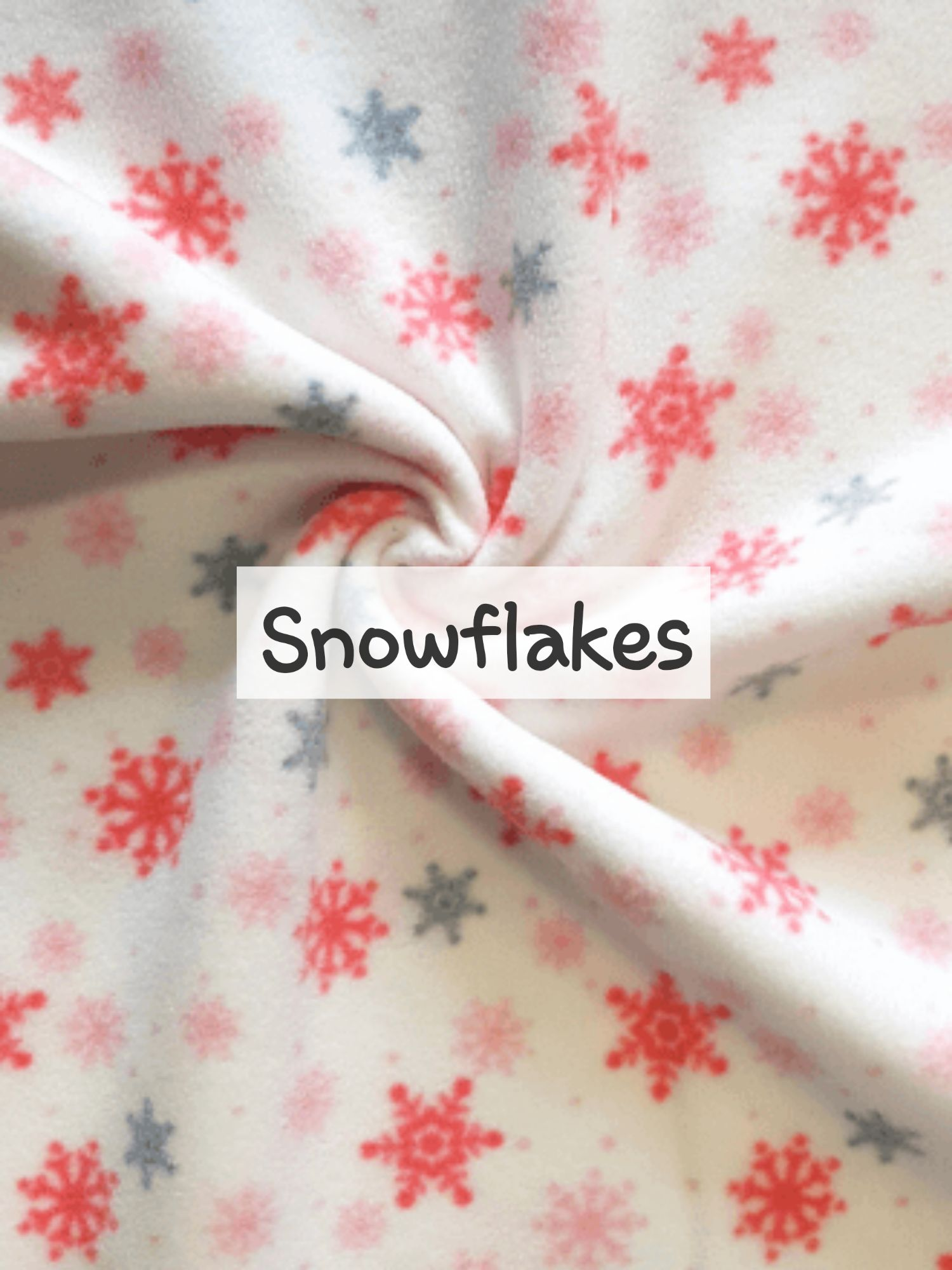 Snowflakes Fleece