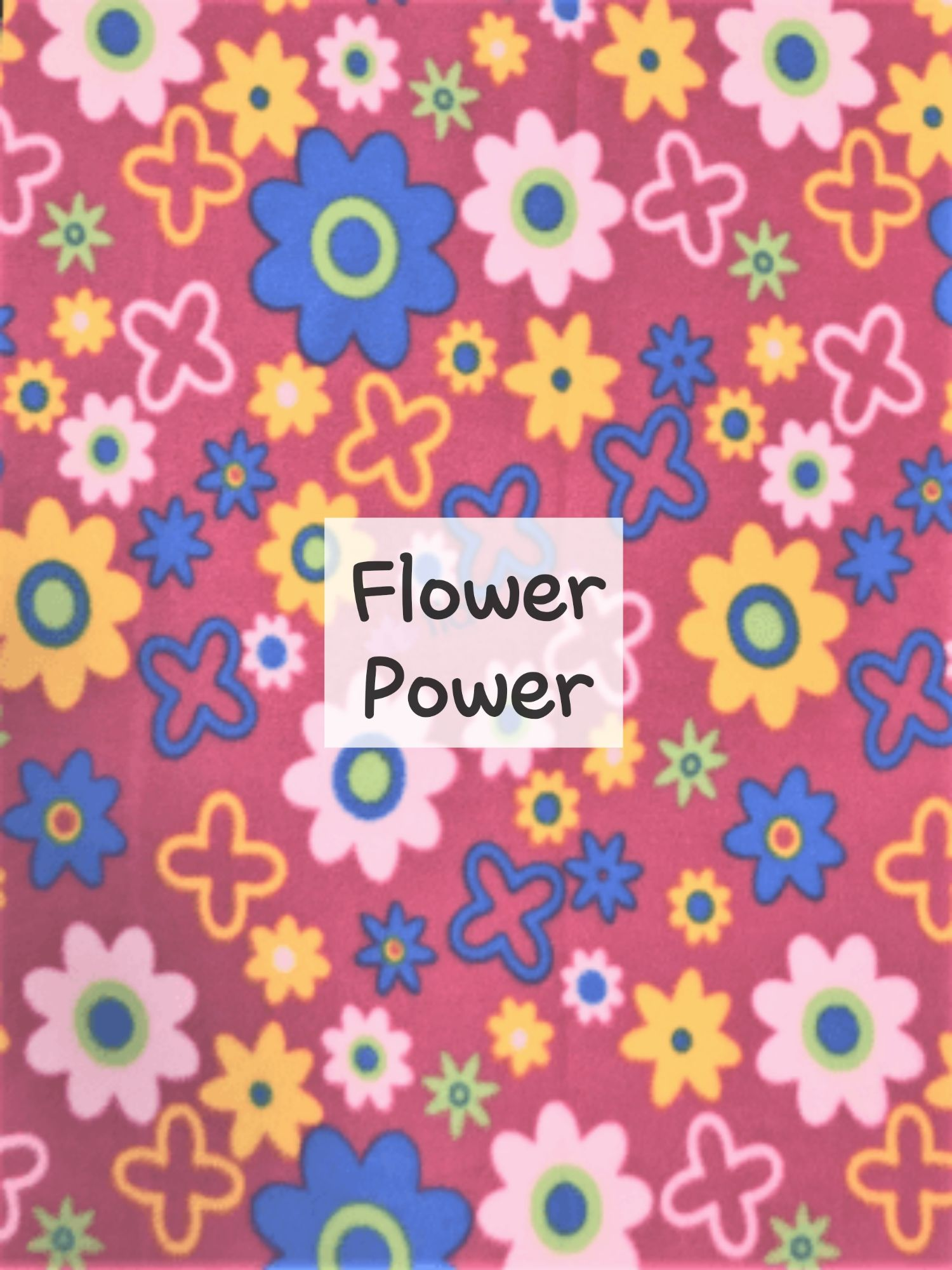 Flower Power Fleece