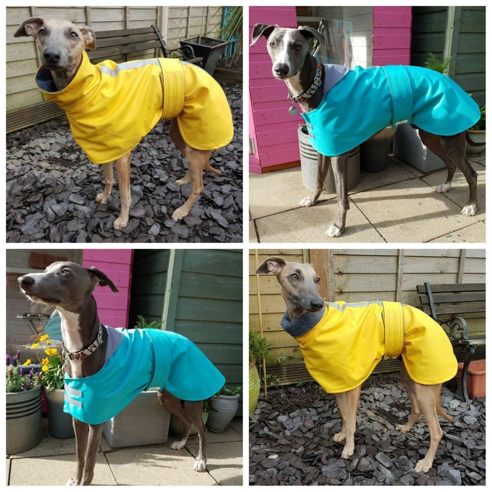 Woven Waterproof Neck Coats - Plain Colours