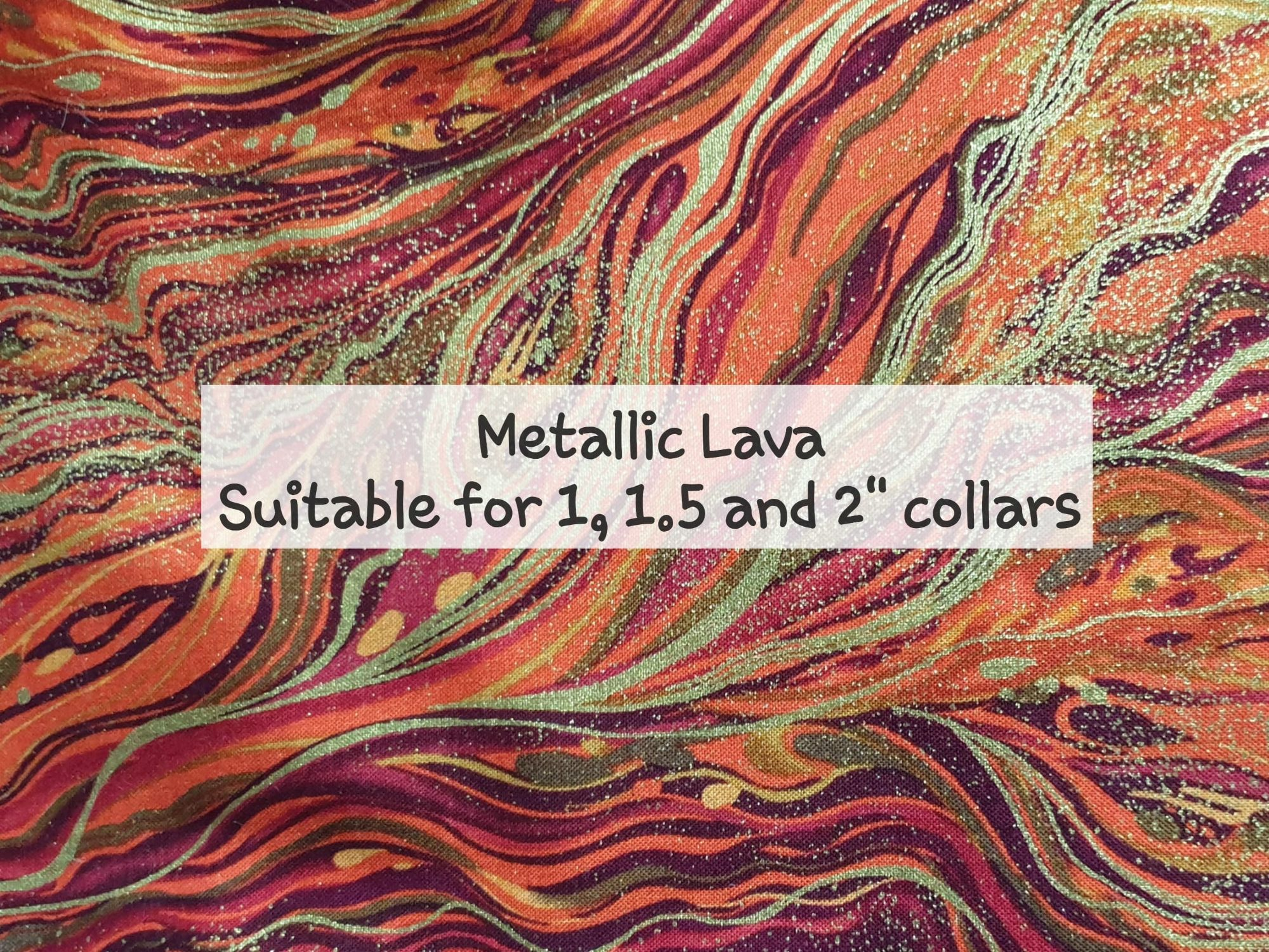 metallic lava