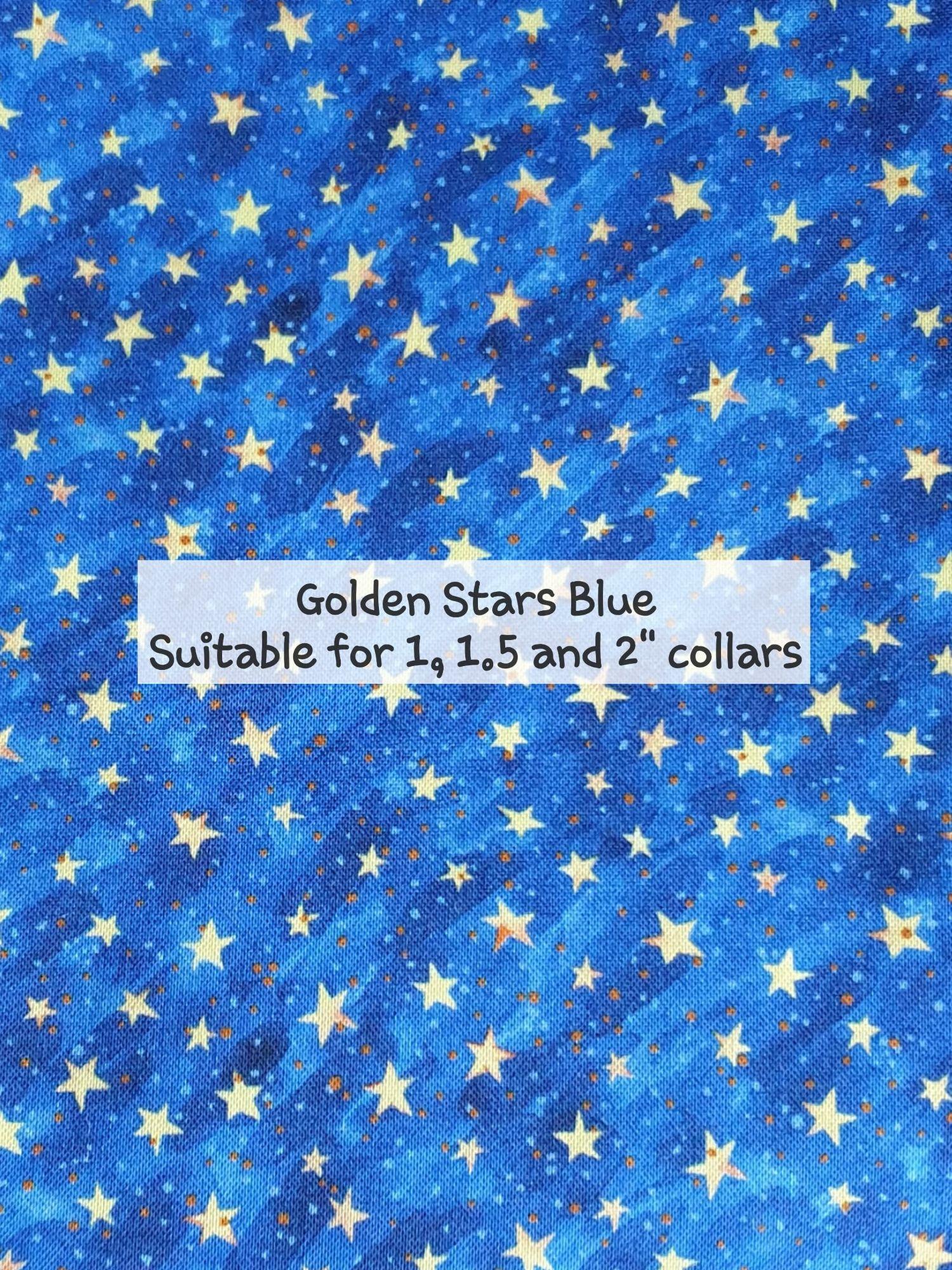 Golden Stars Blue