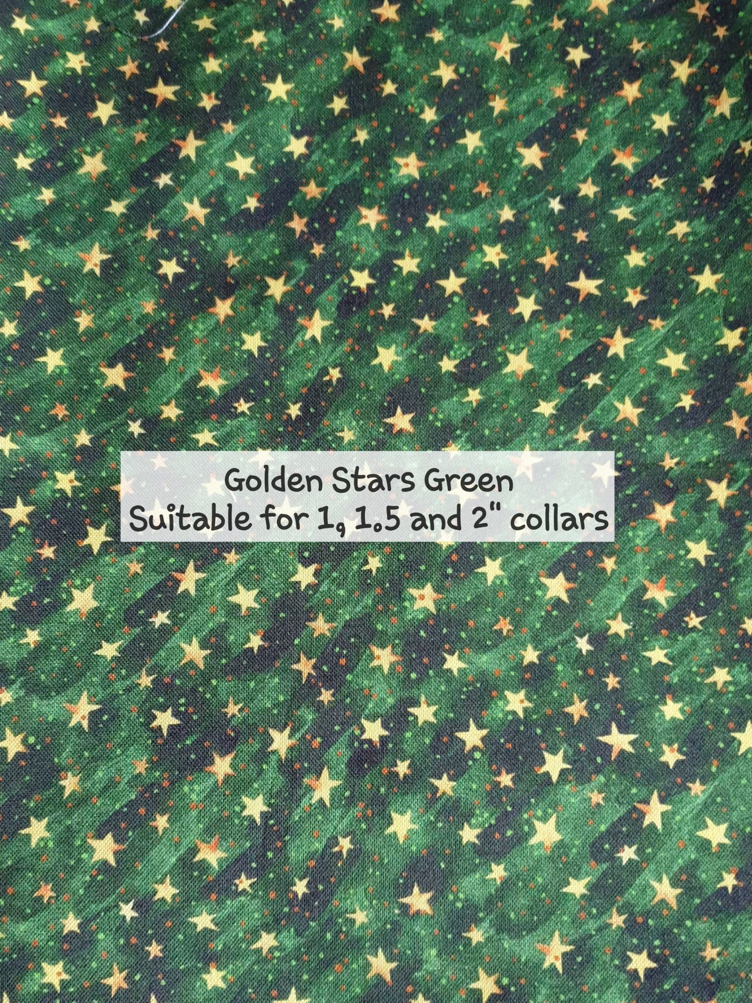 Golden Stars Green