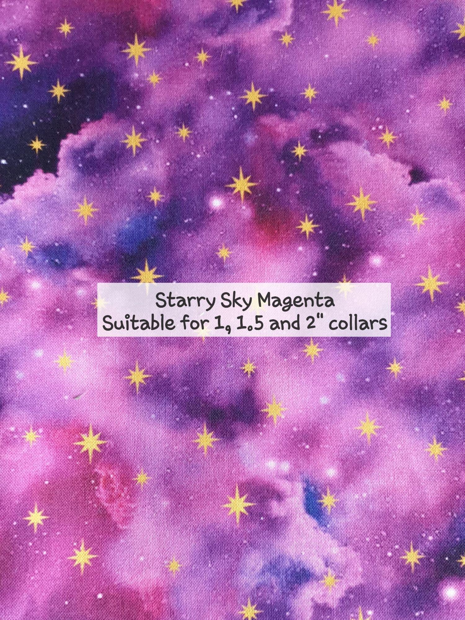 Starry Sky Magenta