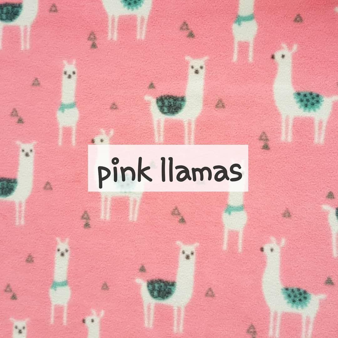 Pink Llama fleece