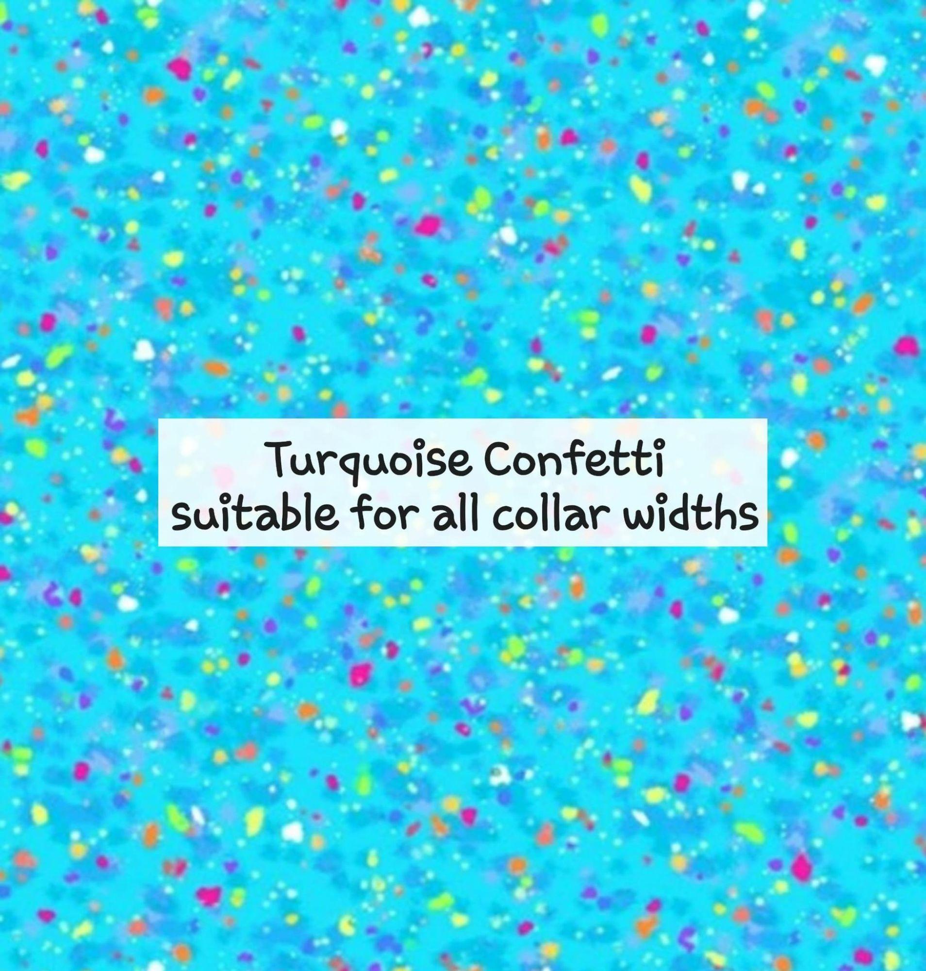 Turquoise Confetti