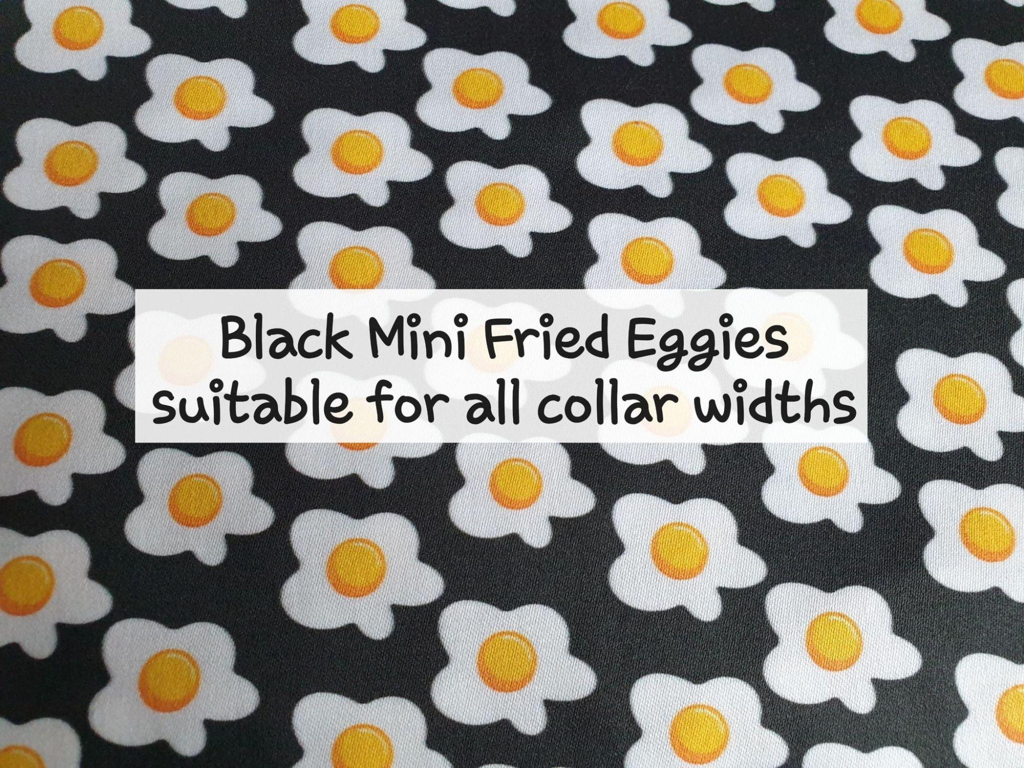 Black Mini Fried Eggies