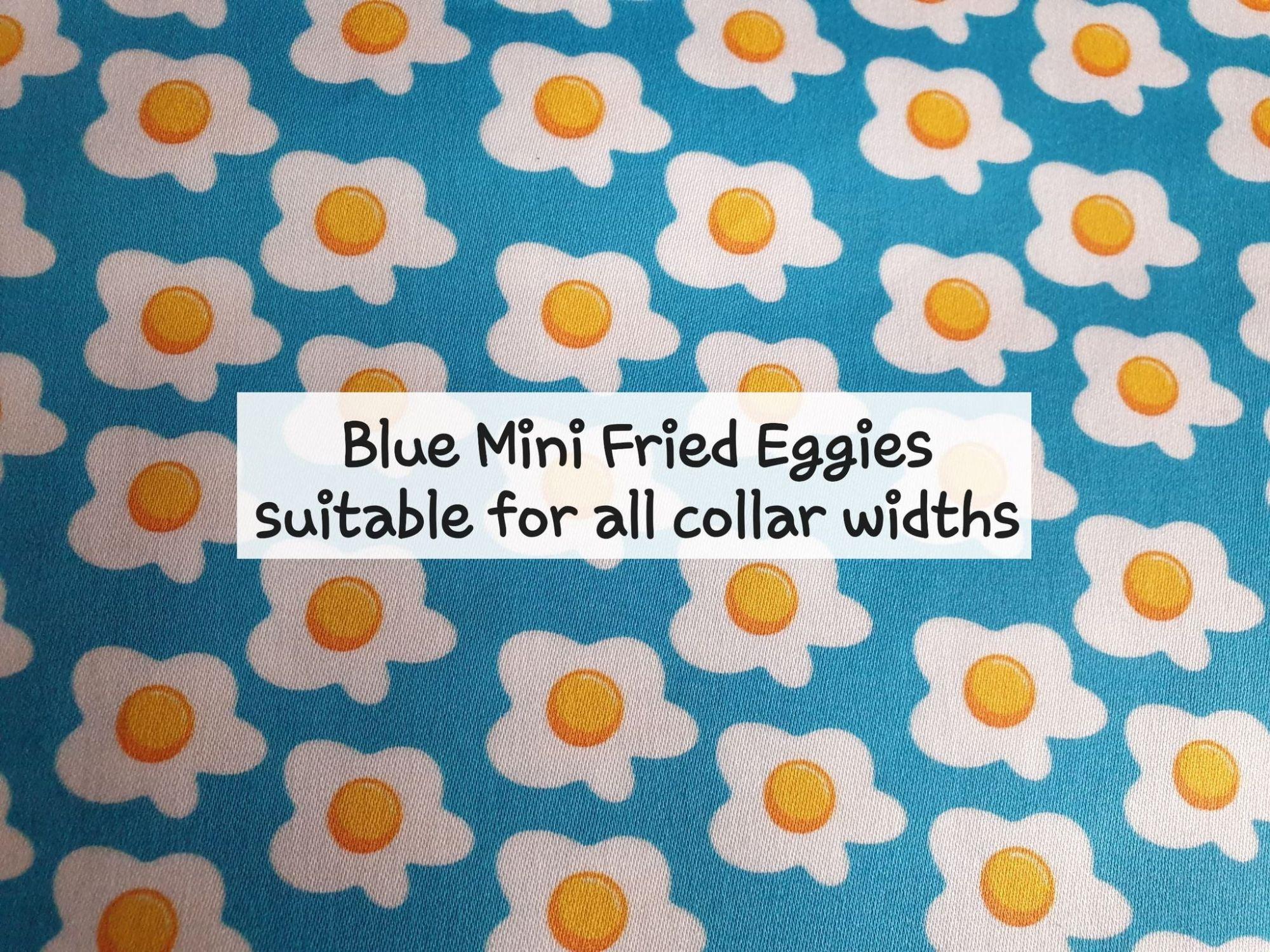 Blue Mini Fried Eggies