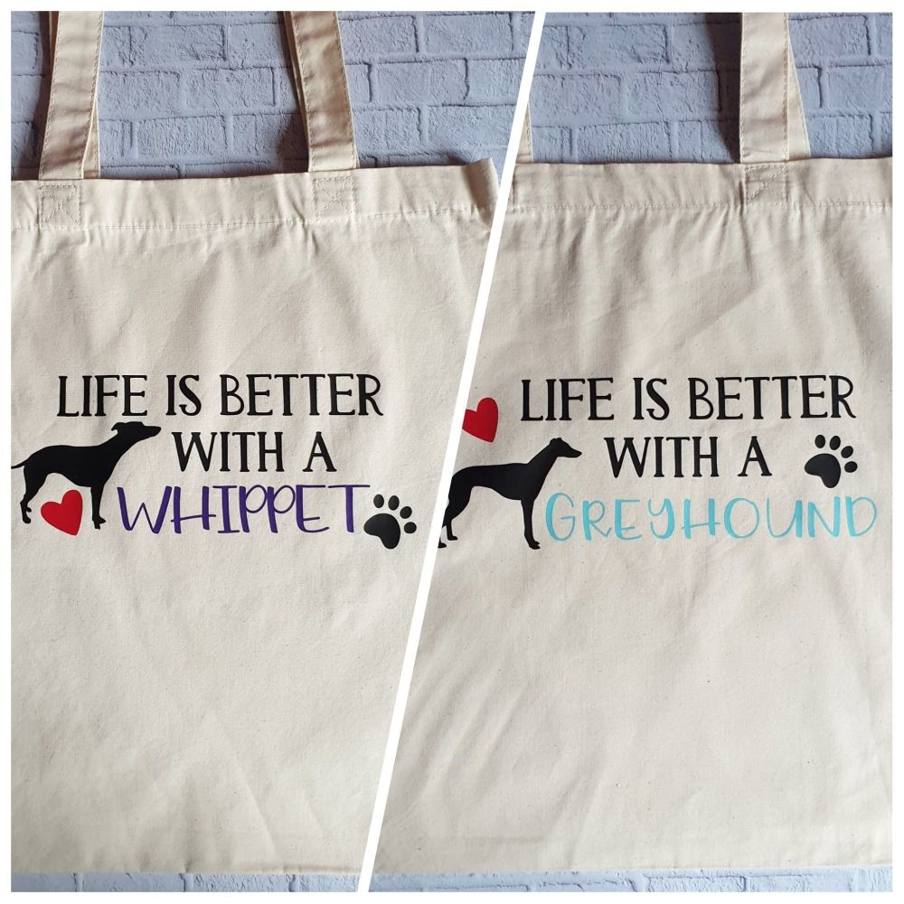'Life is Better' Tote Bag