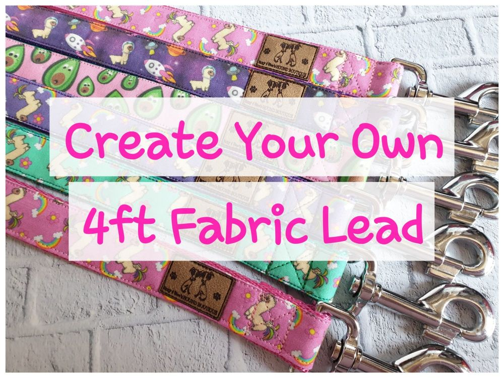 Create Your Own - 4ft Fabric Lead