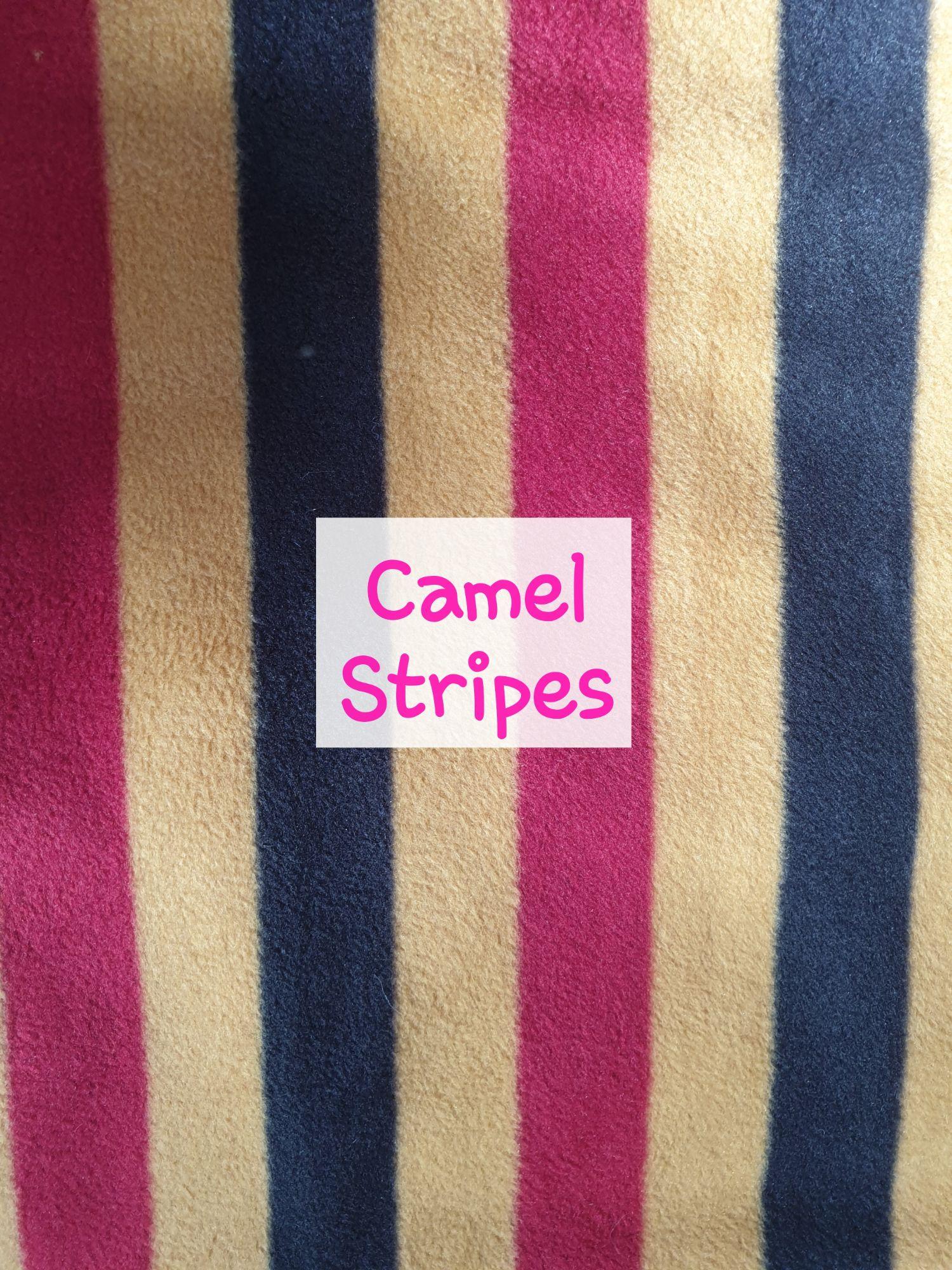 Camel Stripes Fleece