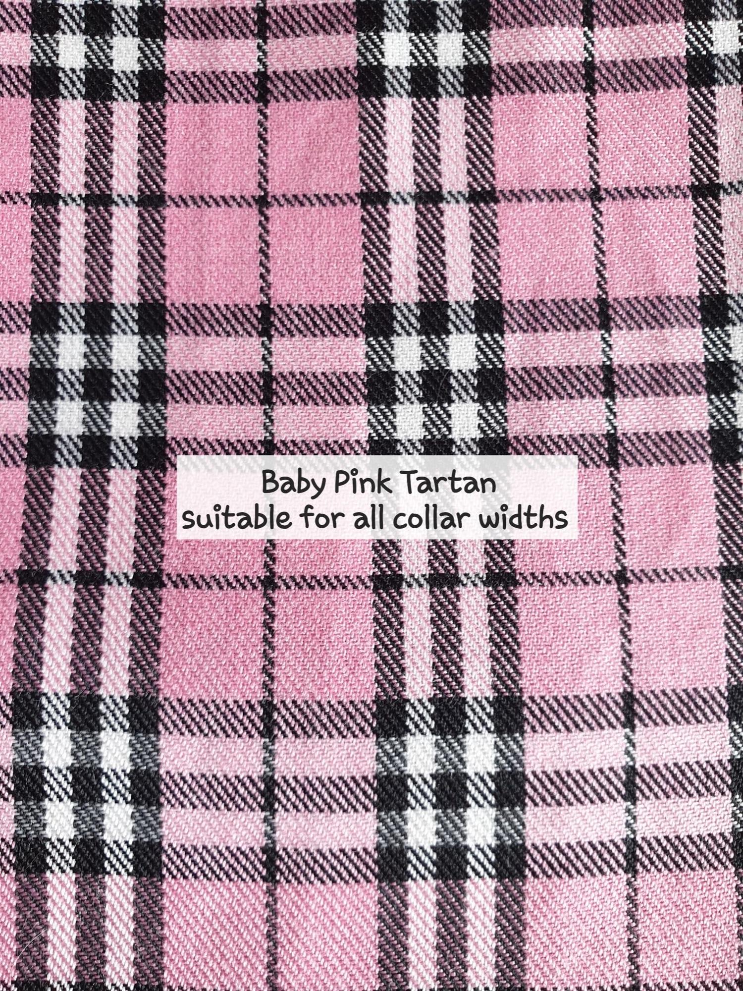 Baby Pink Tartan