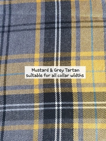 Mustard & Grey Tartan