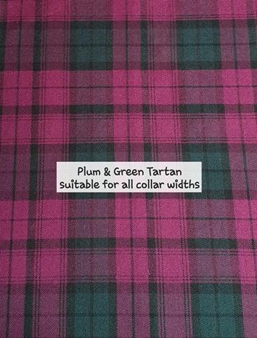 Plum & Green Tartan