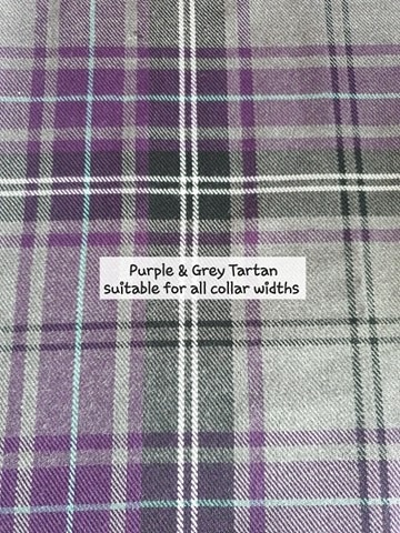 Purple & Grey Tartan