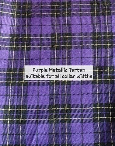Purple Metallic Tartan