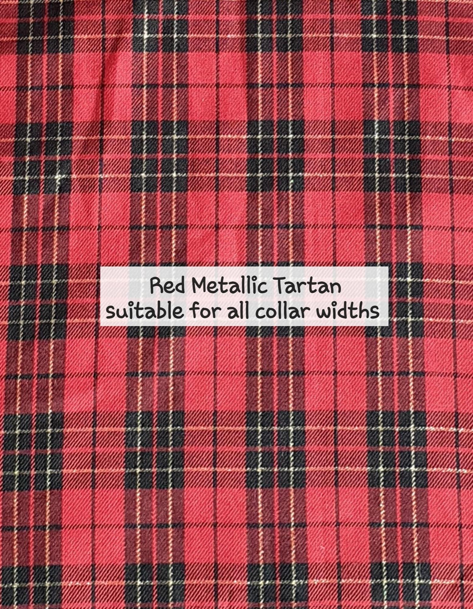 Red Metallic Tartan