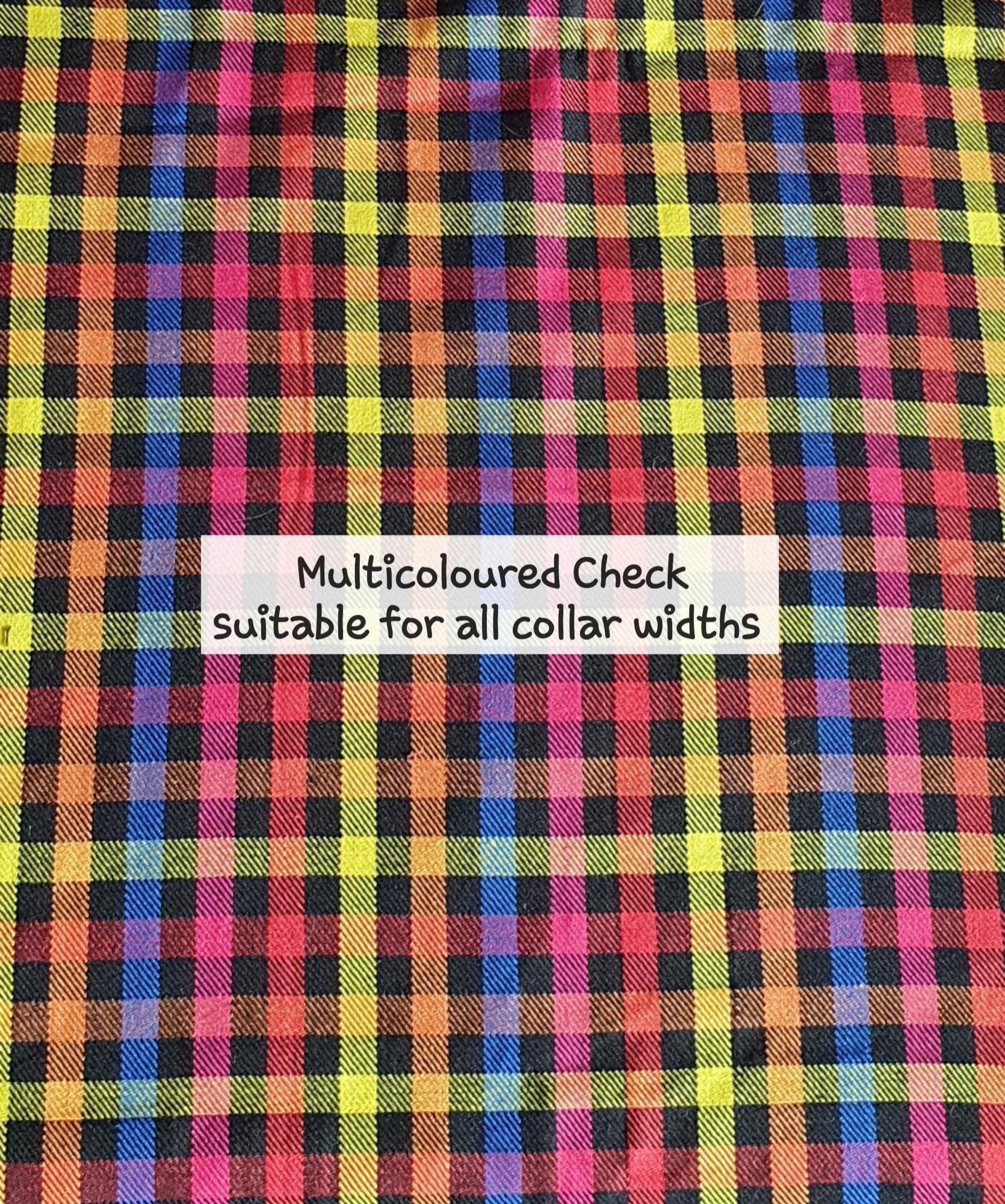 multicoloured check