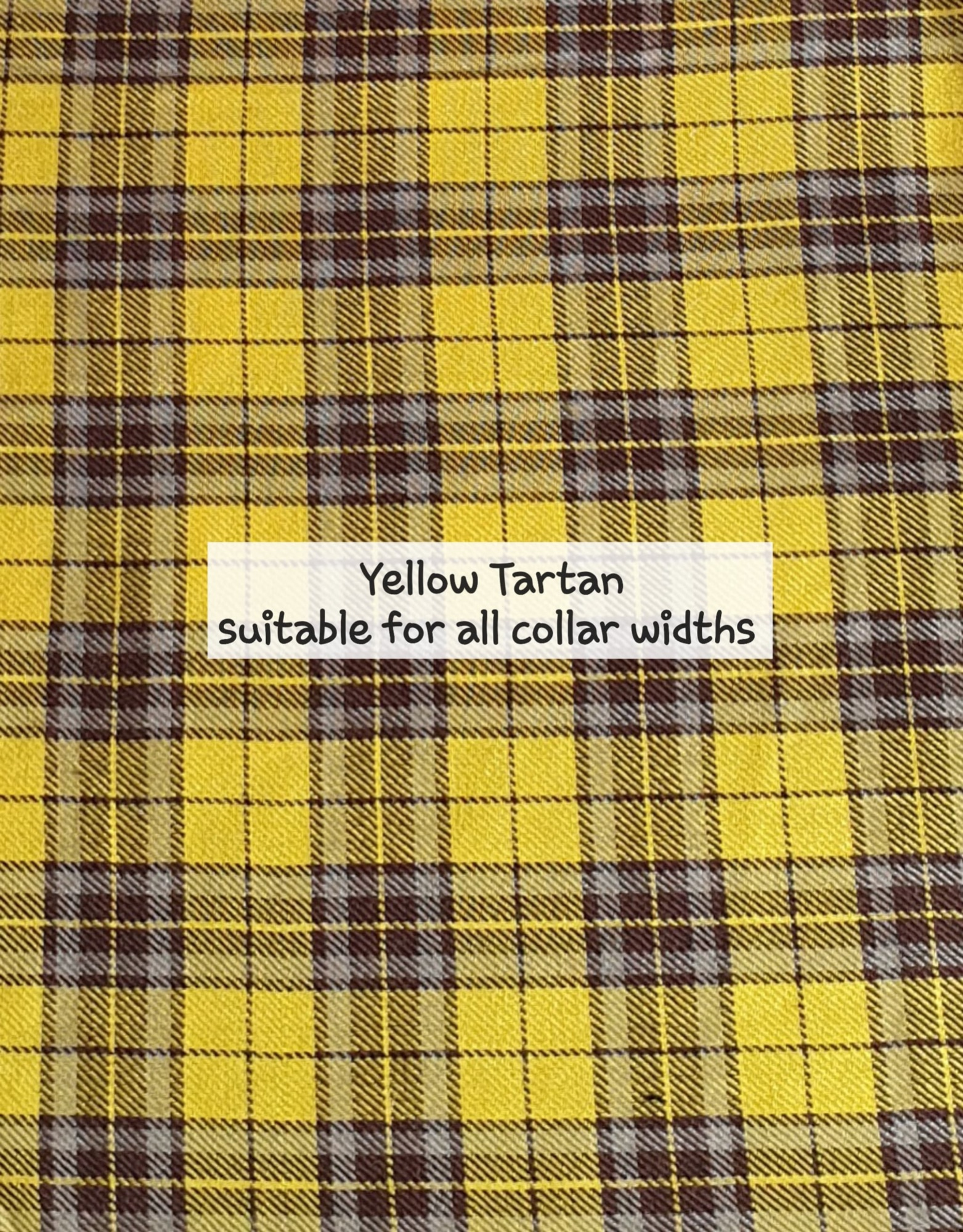 yellow tartan