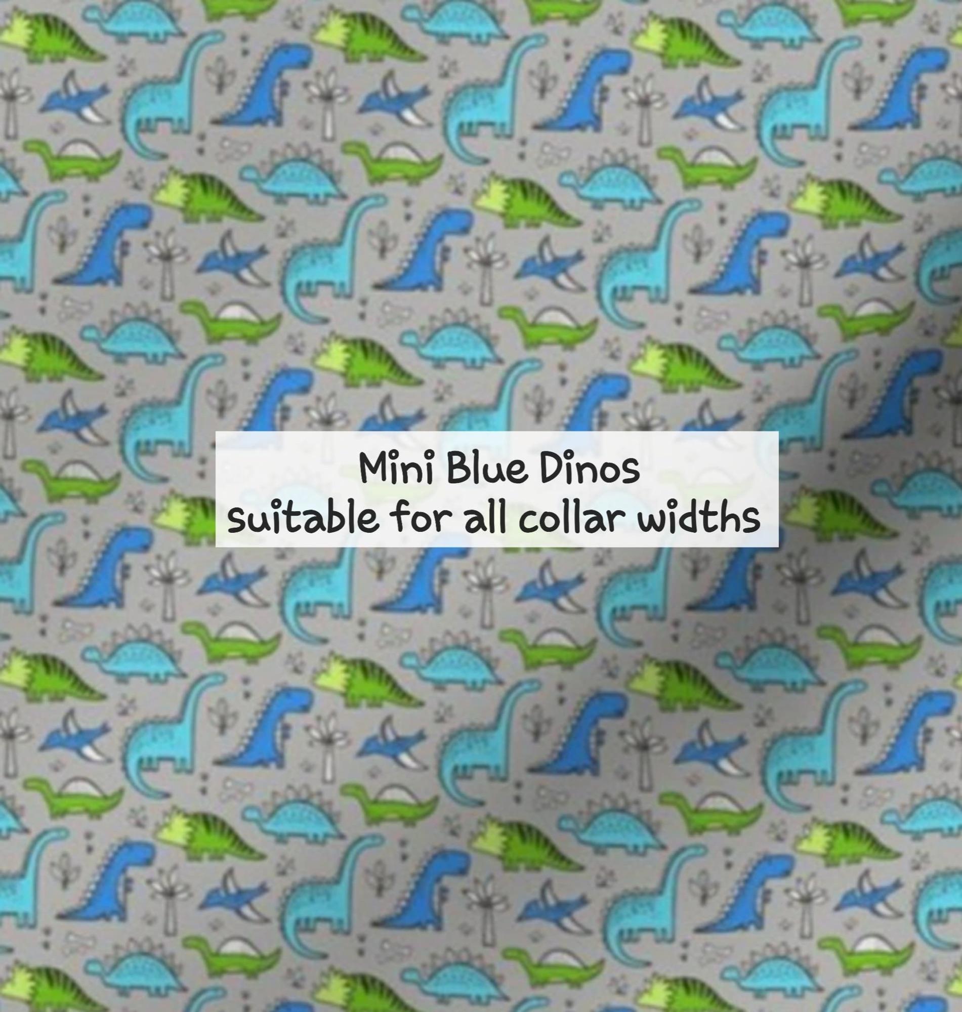 mini blue dinos
