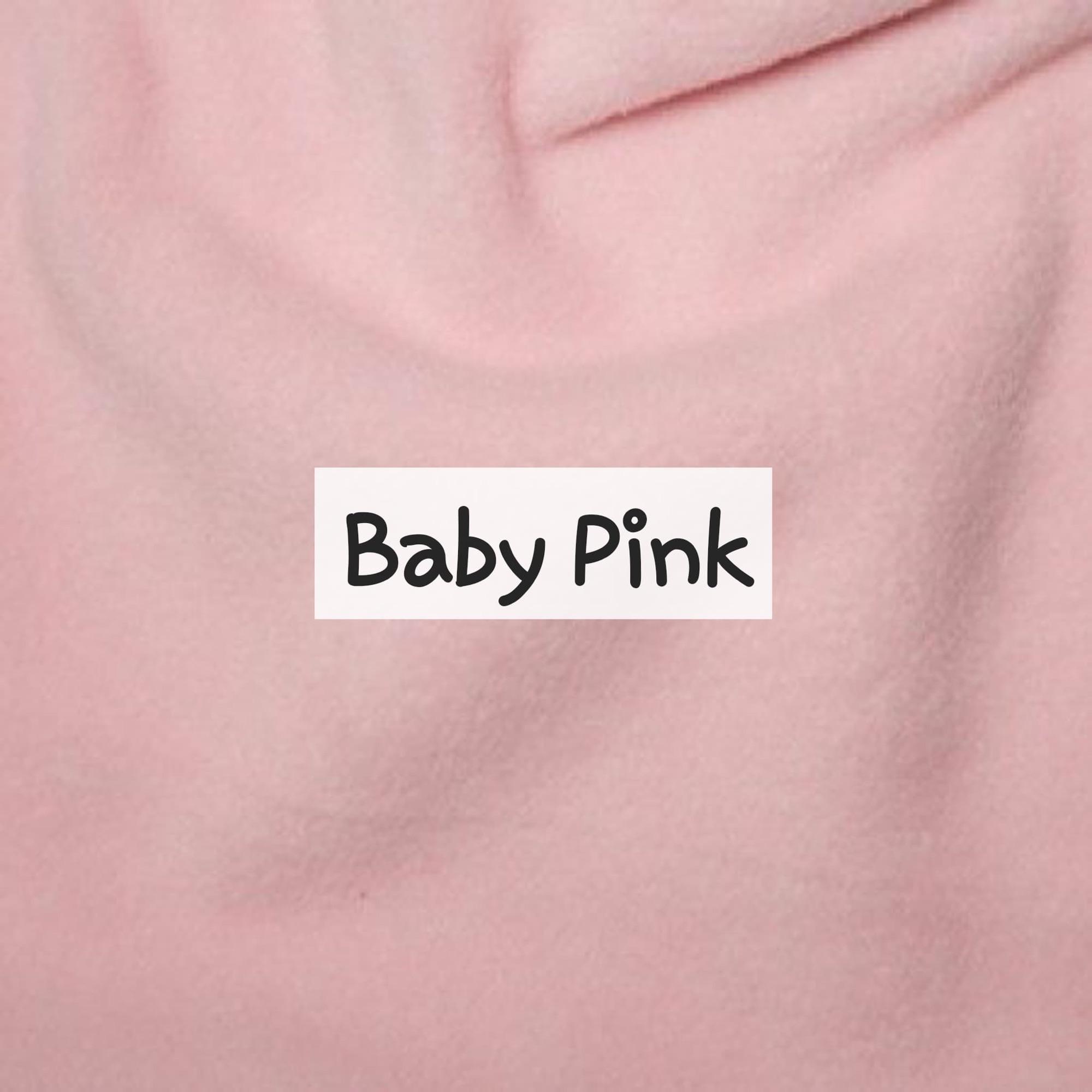 Baby Pink Fleece