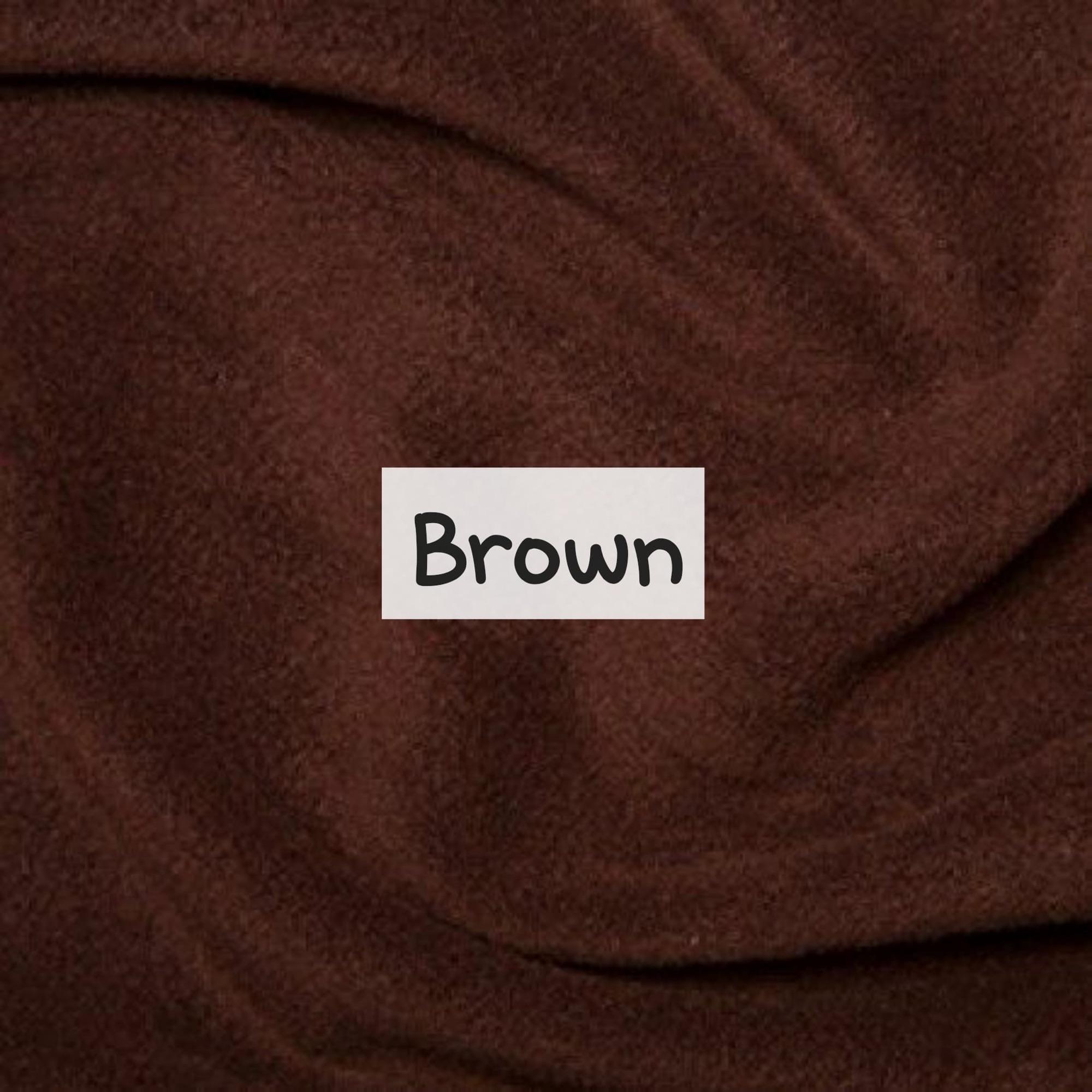 Brown Fleece