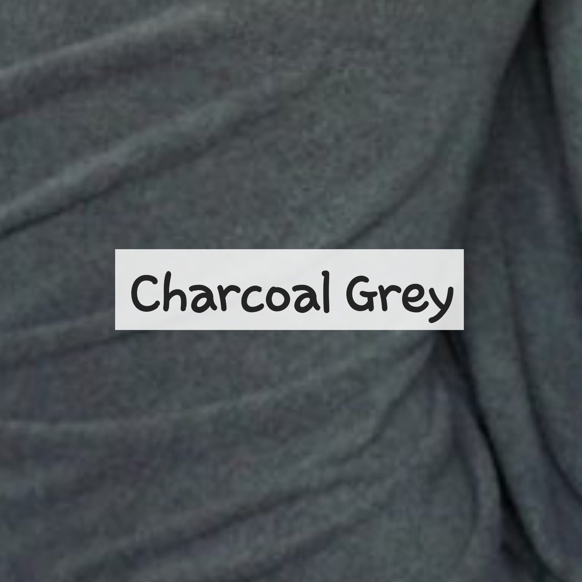 Charcoal Grey Fleece