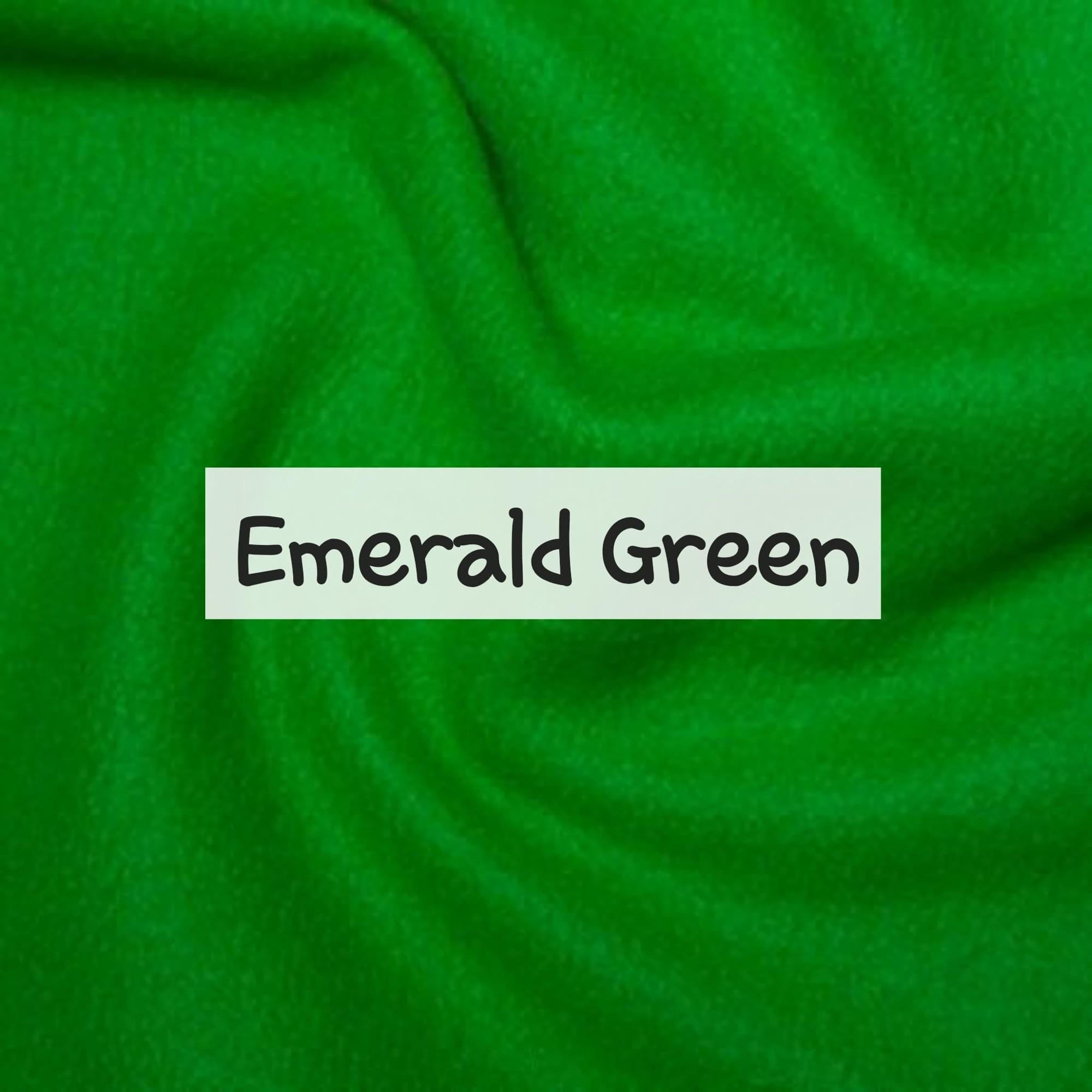 Emerald Green Fleece