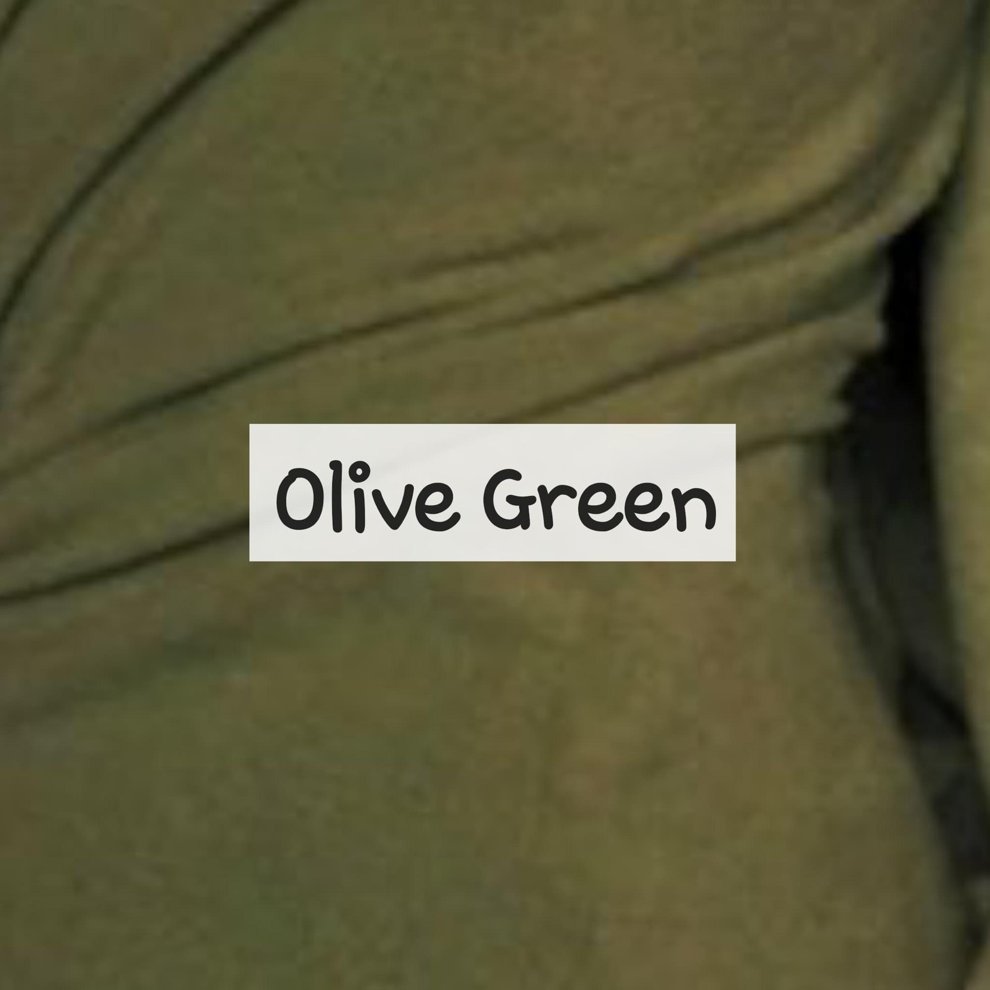 Olive Green Fleece