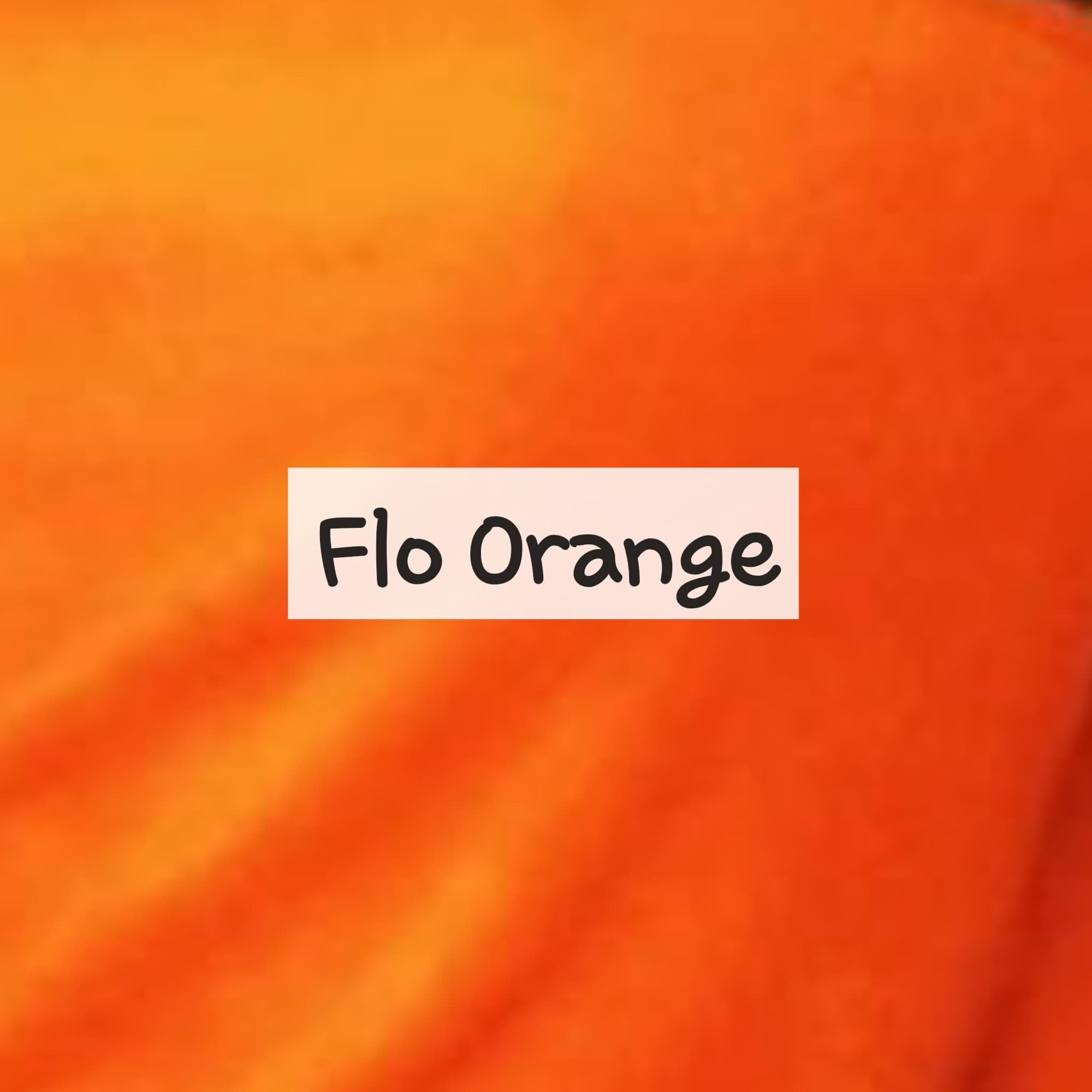 Flo Orange Fleece