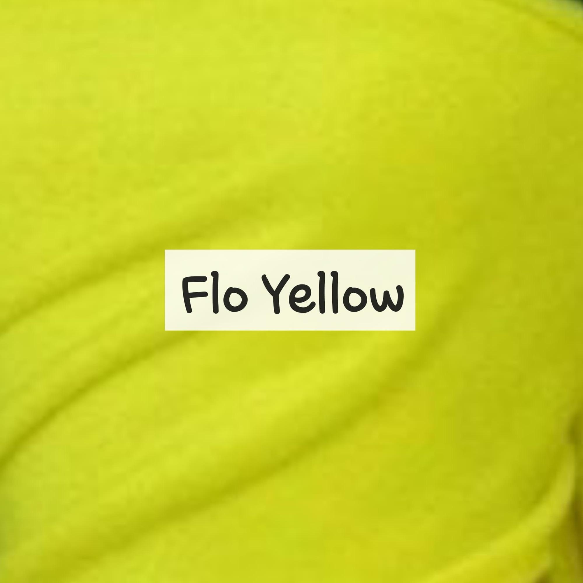 Flo Yellow Fleece