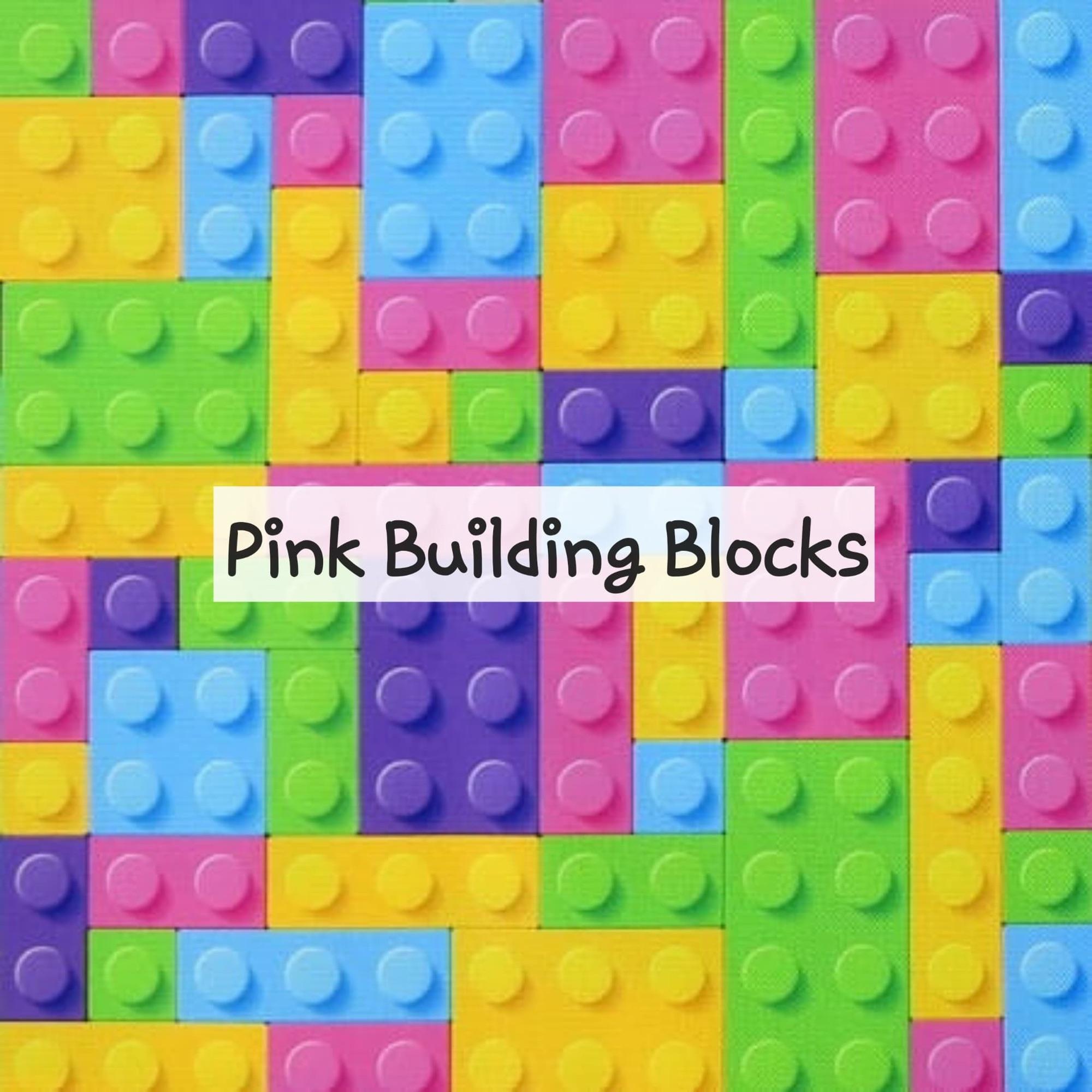 Pink Building Blocks
