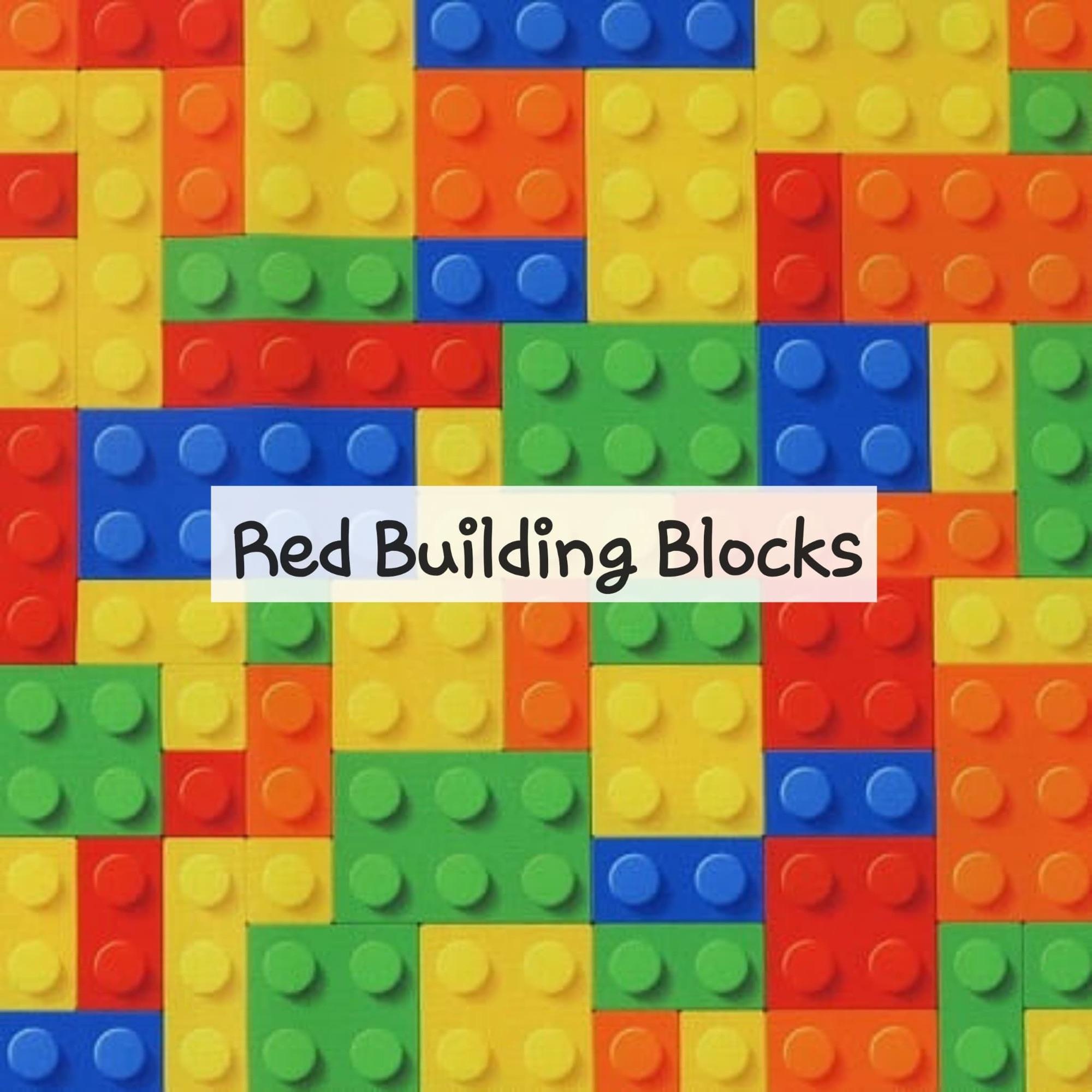 Red Building Blocks