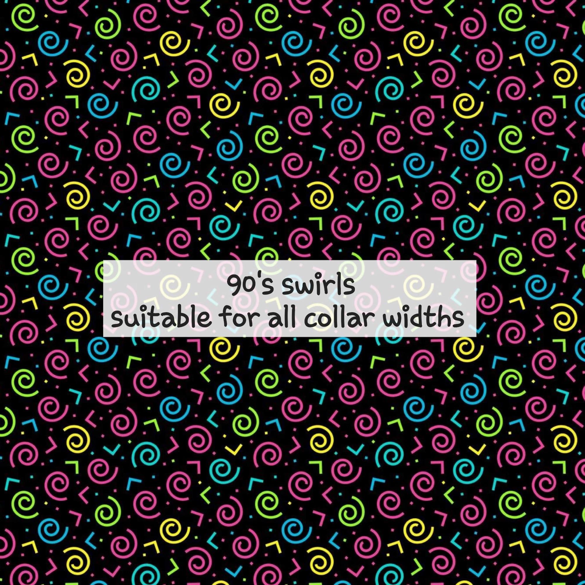 90's swirls
