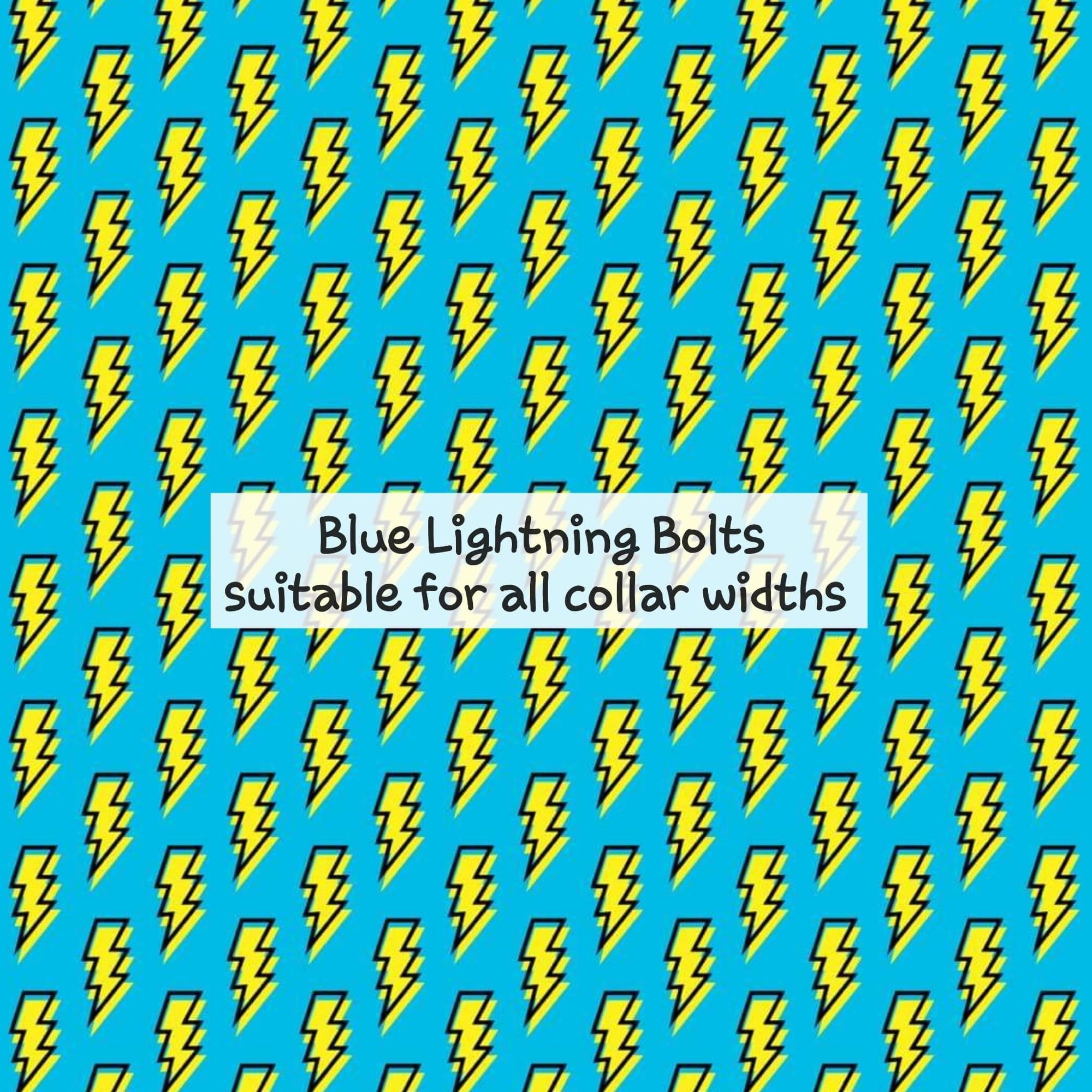 blue lightning bolts