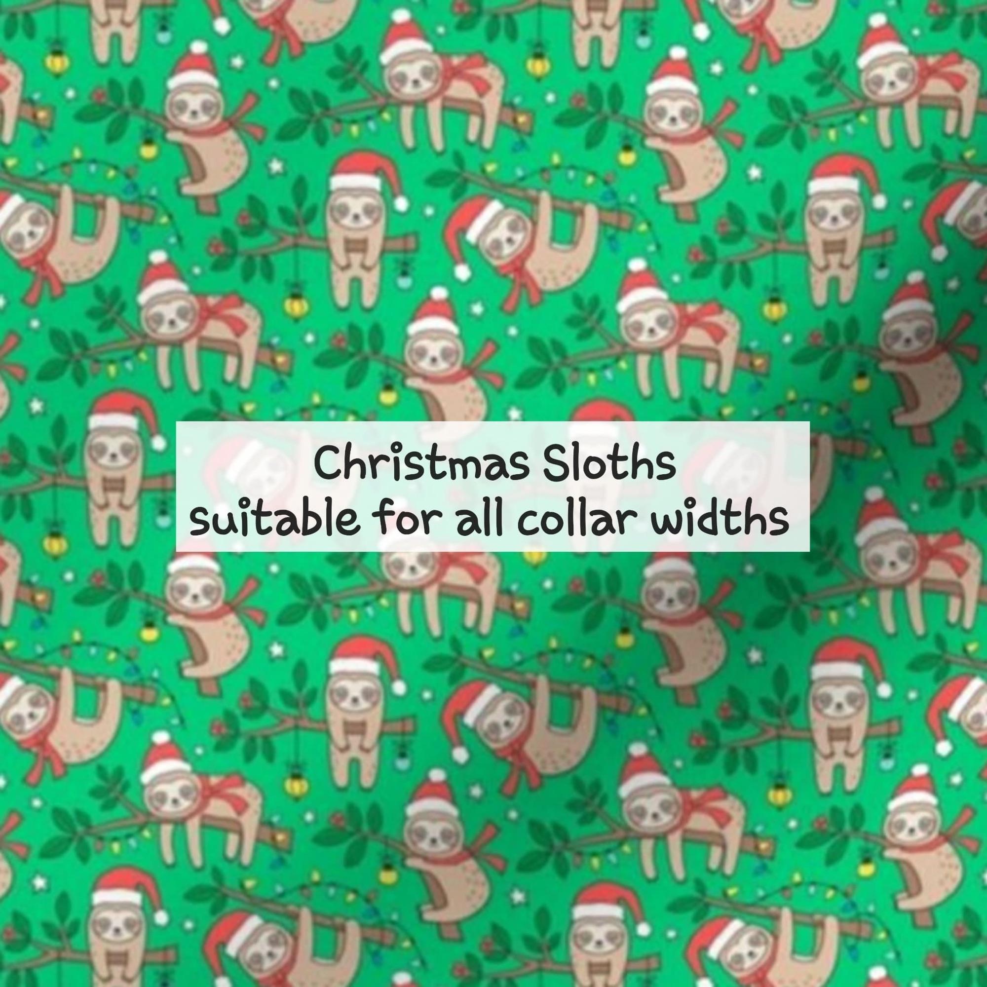 Christmas sloths